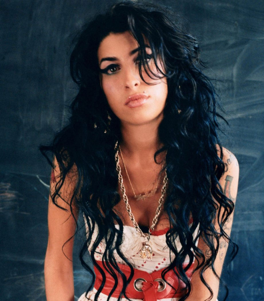 "Imagen de la contra portada del disco ""Back to Black"" de Amy Winehouse. Fotografía © Mischa Richter"