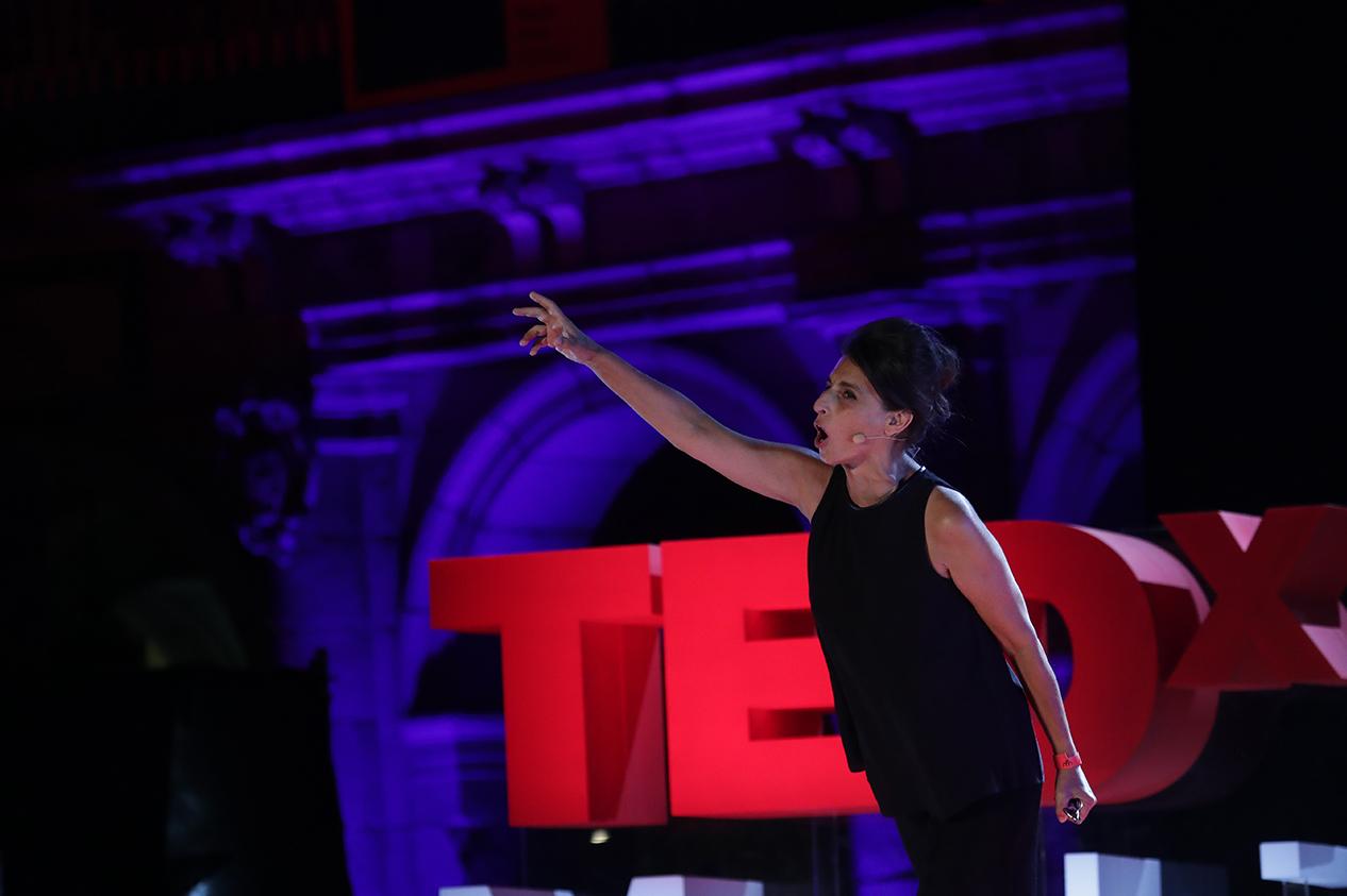 Atxu Amann in TED, image via MACA