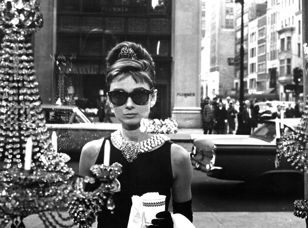 """Audrey Hepburn """"Breakfast at Tiffany's"""" (Available on DVD and Blue-Ray). Image courtesy of Mondo Galería"""
