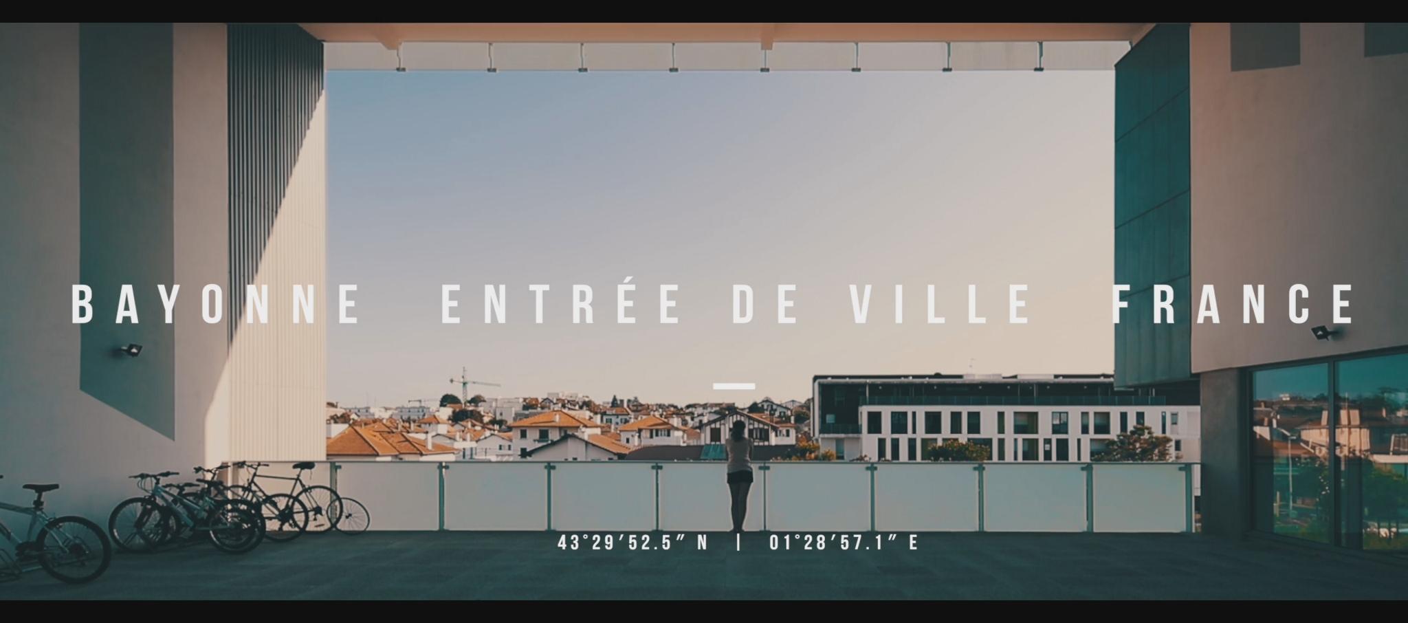 Bayonne entrée de ville France. Josep Lluis Mateo - Mateo Arquitectura. Video by Pablo Casals Aguirre