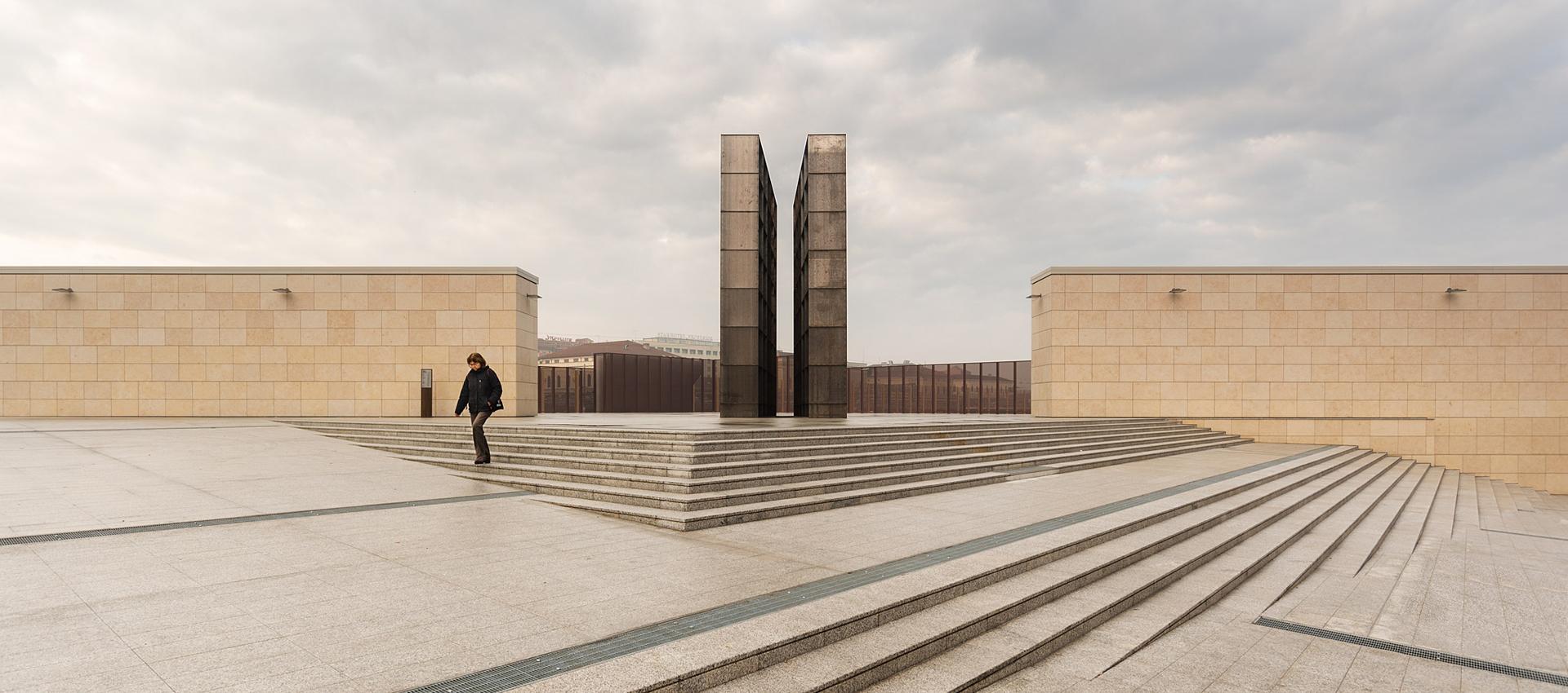 Memorial Shoah Bolonia por SET. Fotografía © Simone Bossi
