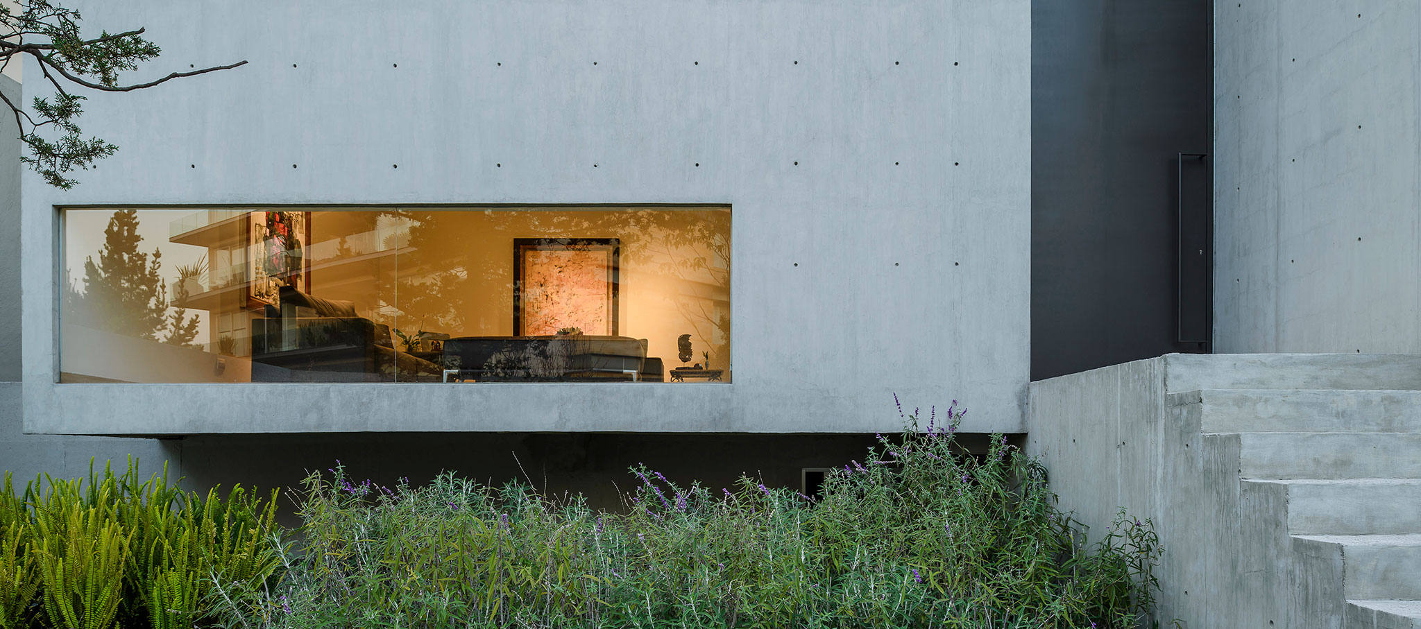 Entrance. CAFM House by RZERO. Photograph by Moritz Bernoully