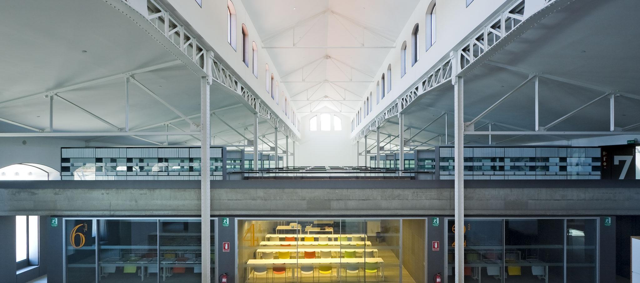 Casa del Lector de Matadero, nueva incorporación en la IV edición de Open House Madrid. Fotografía por Ricardo Santonja