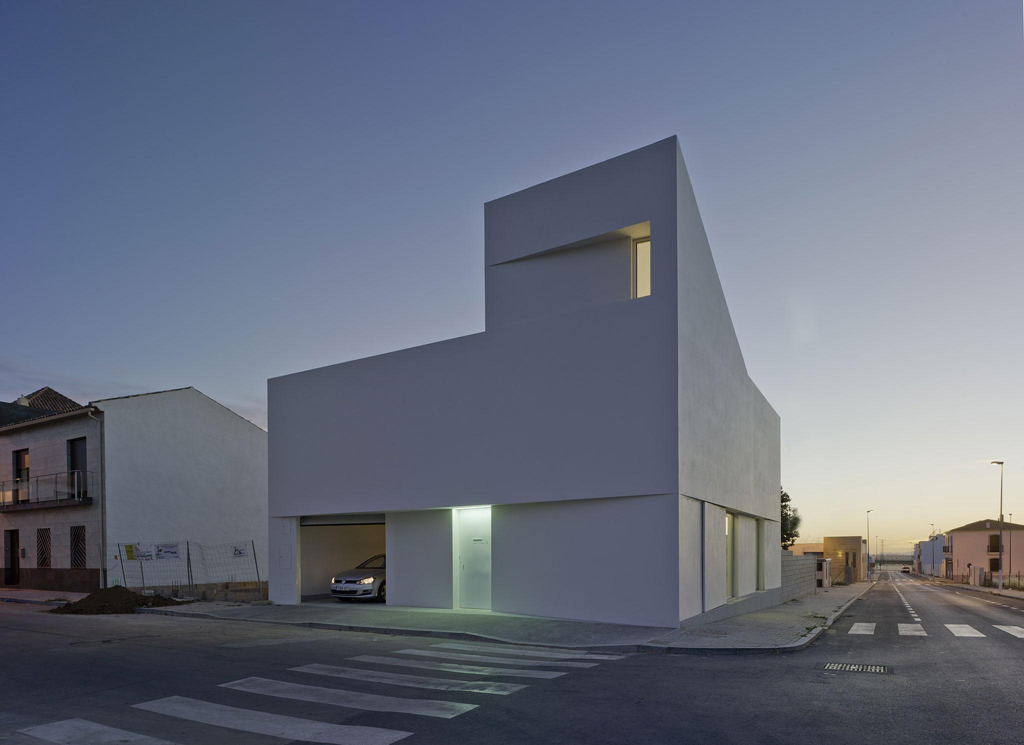 Atardecer. Casa Lopera por David Ruiz Molina. Fotografía © David Frutos