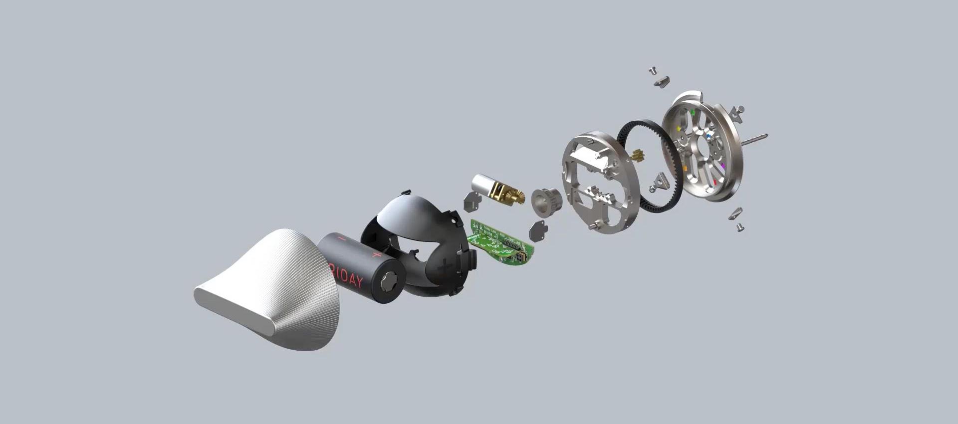 Cerradura inteligente de Friday Labs por BIG. Imagen cortesía de Friday Labs