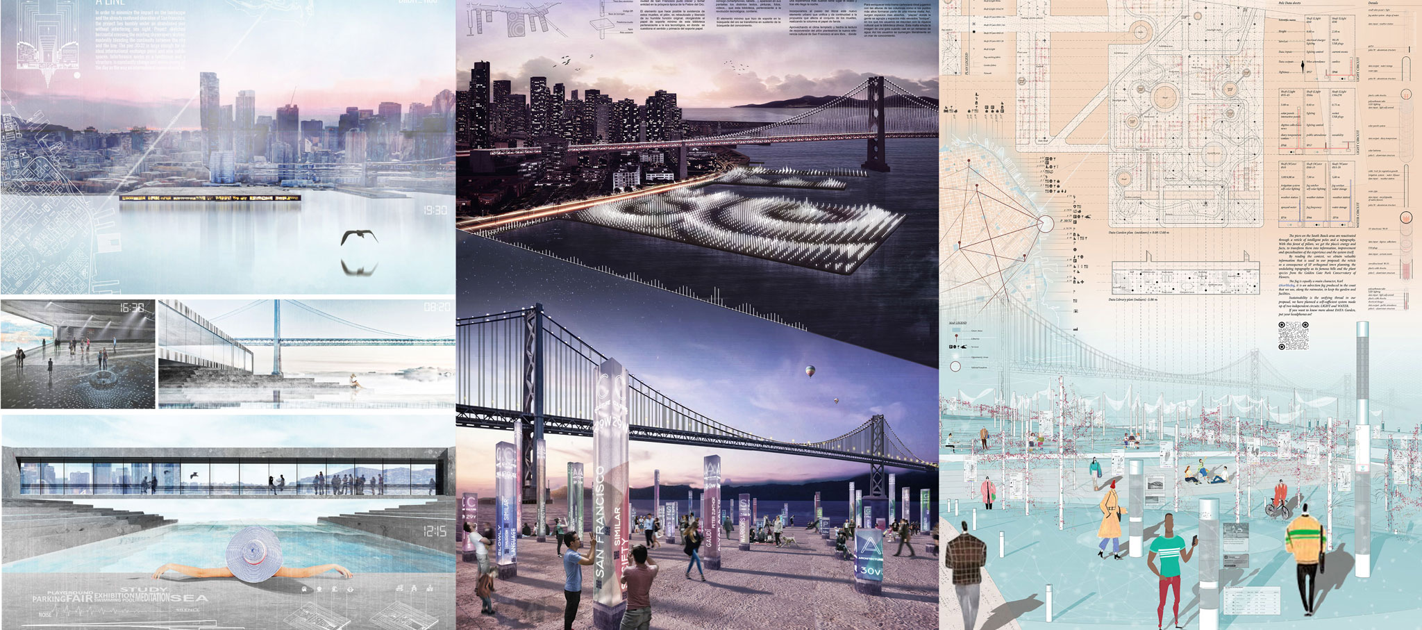 Winners of the Bay Book House BaBH San Francisco ideas competition