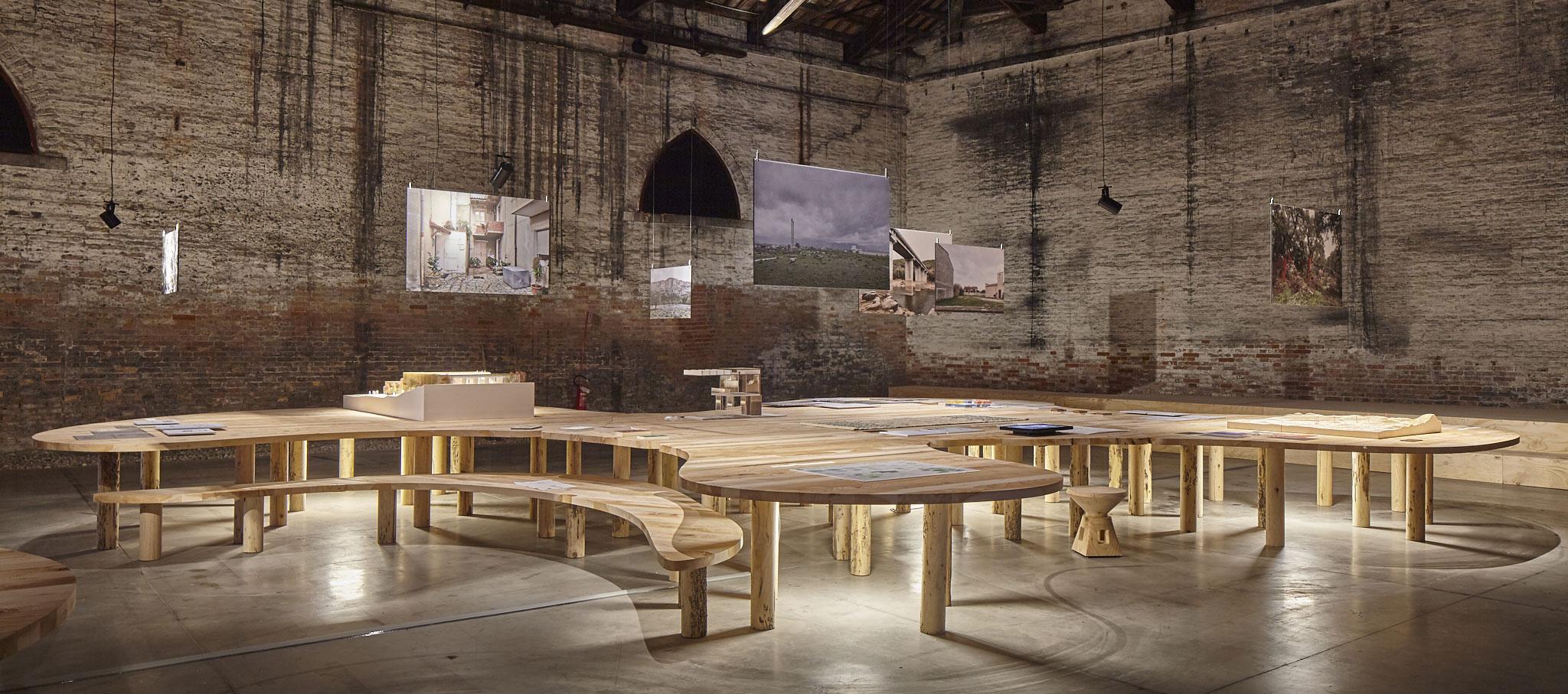 Pabellón de Italia en ela Bienal de Venecia. Padiglione Italia, Fotografía © Urban Reports