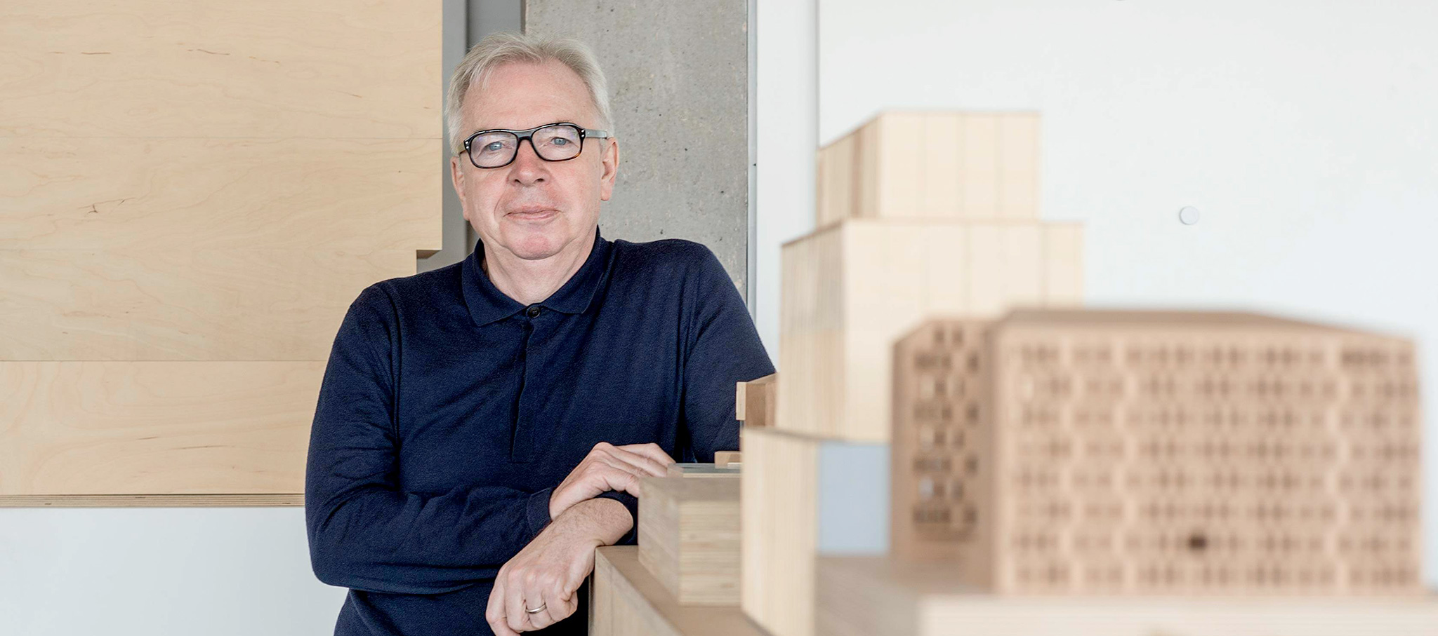 David Chipperfield. Fotografía por Rolex/Tina Ruisinger