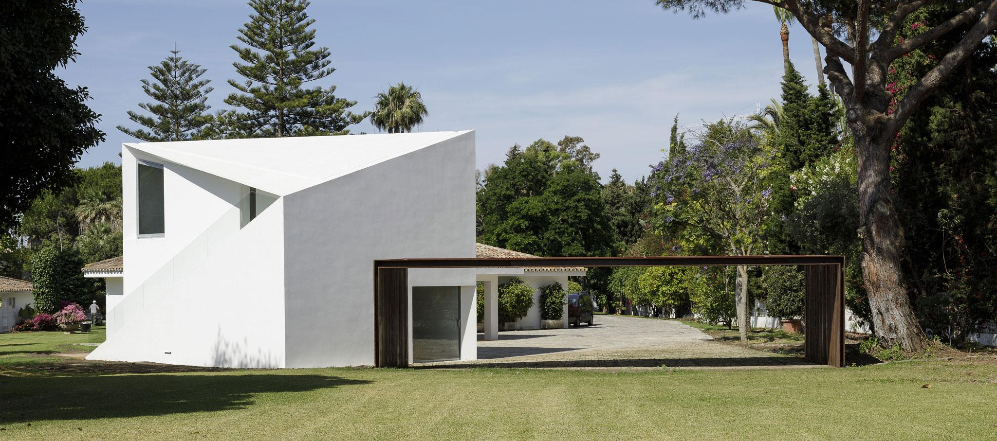 Pabellón de invitados de Villa Magnolia, nuevo proyecto por El Muelle. Fotografía por Fernando Alda