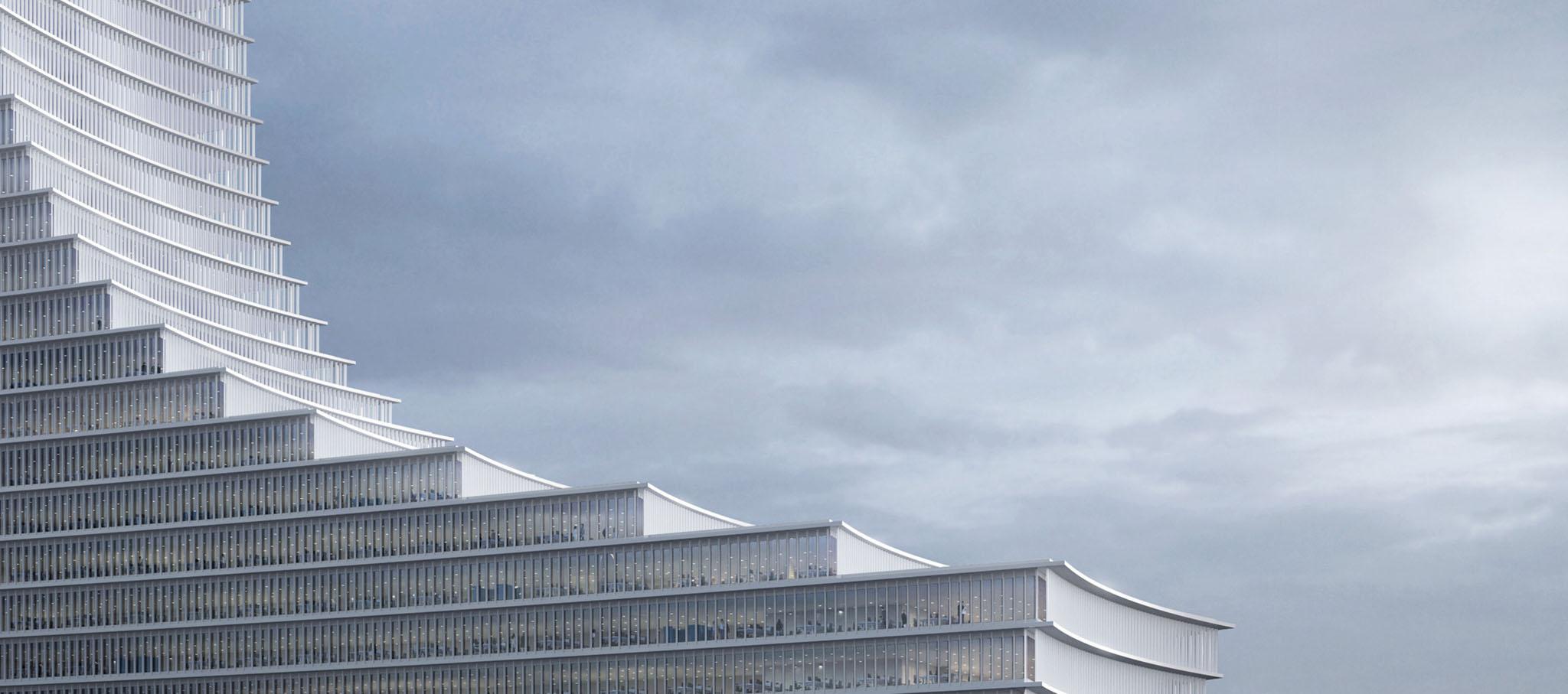 Elbtower por David Chipperfield Architects