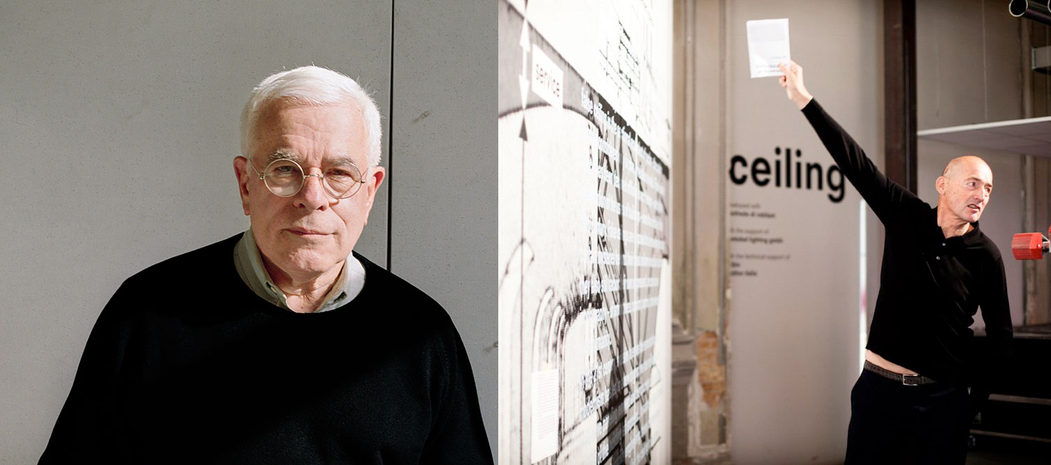 Peter Eisenman vs Rem Koolhaas