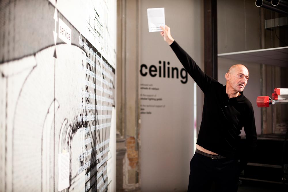 Rem Koolhaas. Venice Biennale 2014. Photography © Italo Rondinella. Courtesy of la Biennale di Venezia