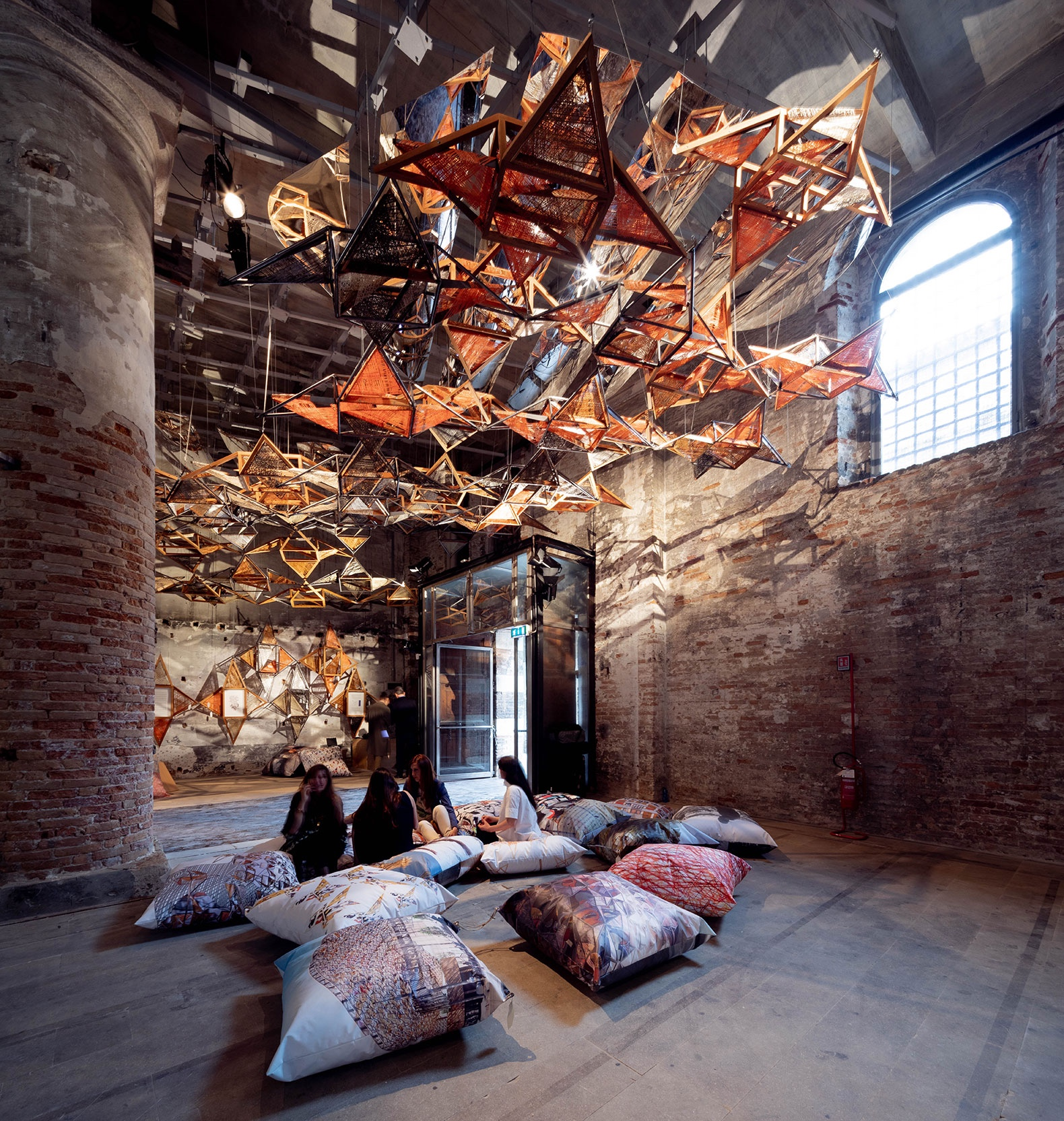 Weaving Architecture by EMBT at the Biennale Architettura di Venezia 2018