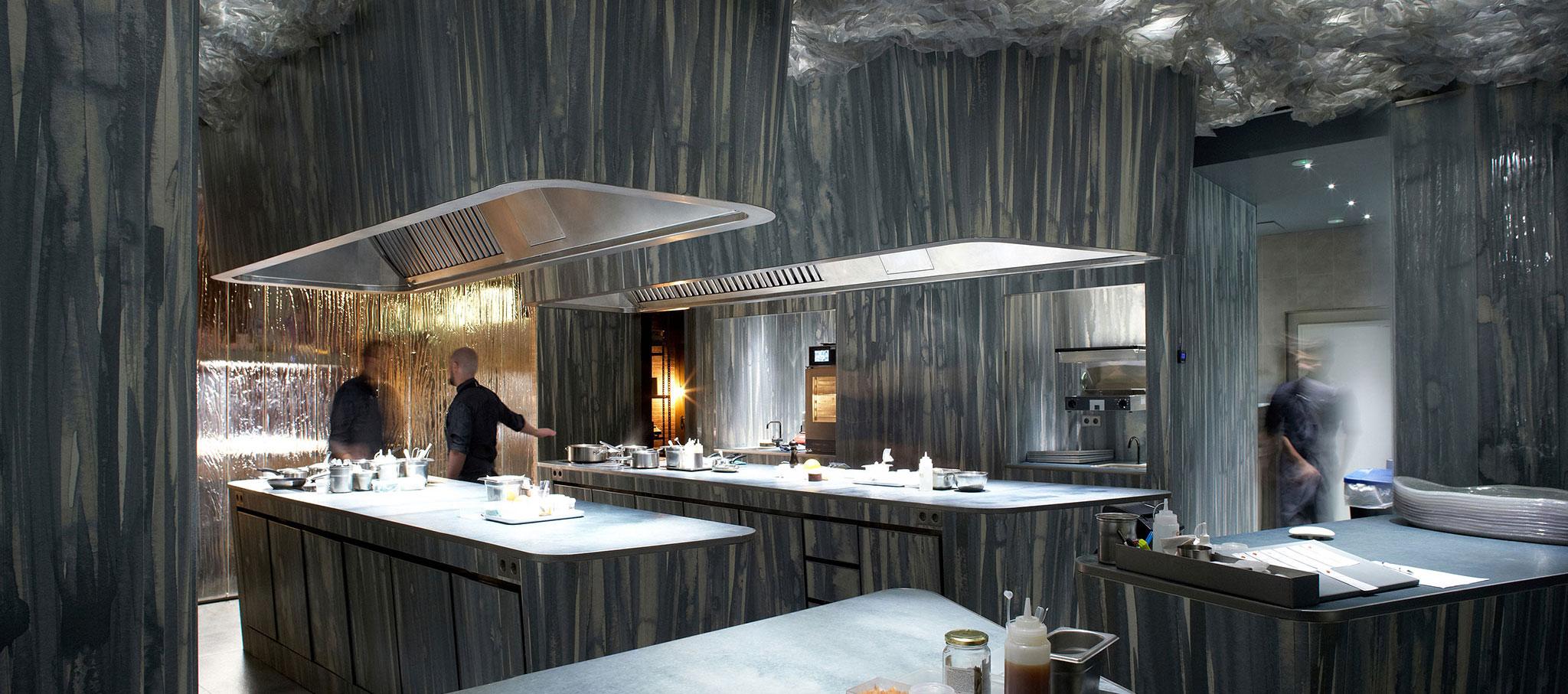 Enigma Restaurant by RCR Arquitectes. Photograph © Pepo Segura