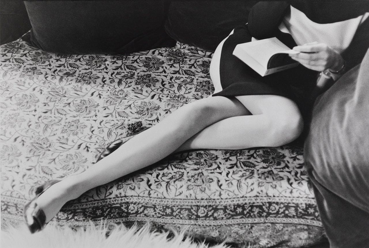 Martine Franck, Paris, France, 1967. Silver gelatin, vintage copy. Collection Eric et Louise Franck, London © Henri Cartier-Bresson / Magnum Photos, courtesy Henri Cartier-Bresson Foundation. Photo: Philippe Migeat / Center Pompidou