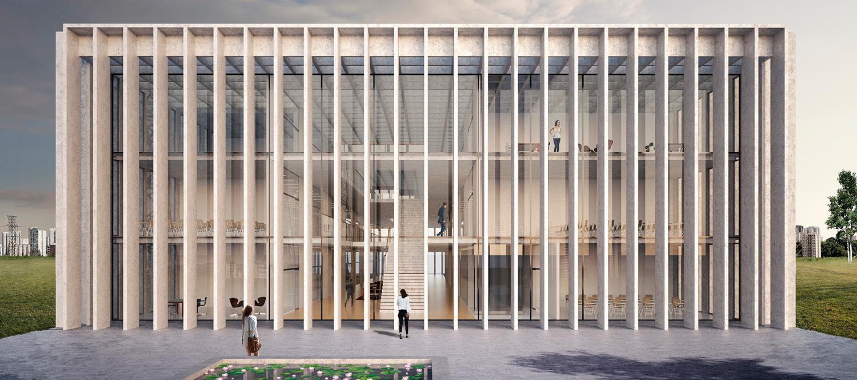 Facultad de Medicina São José dos Campos por KAAN Architecten