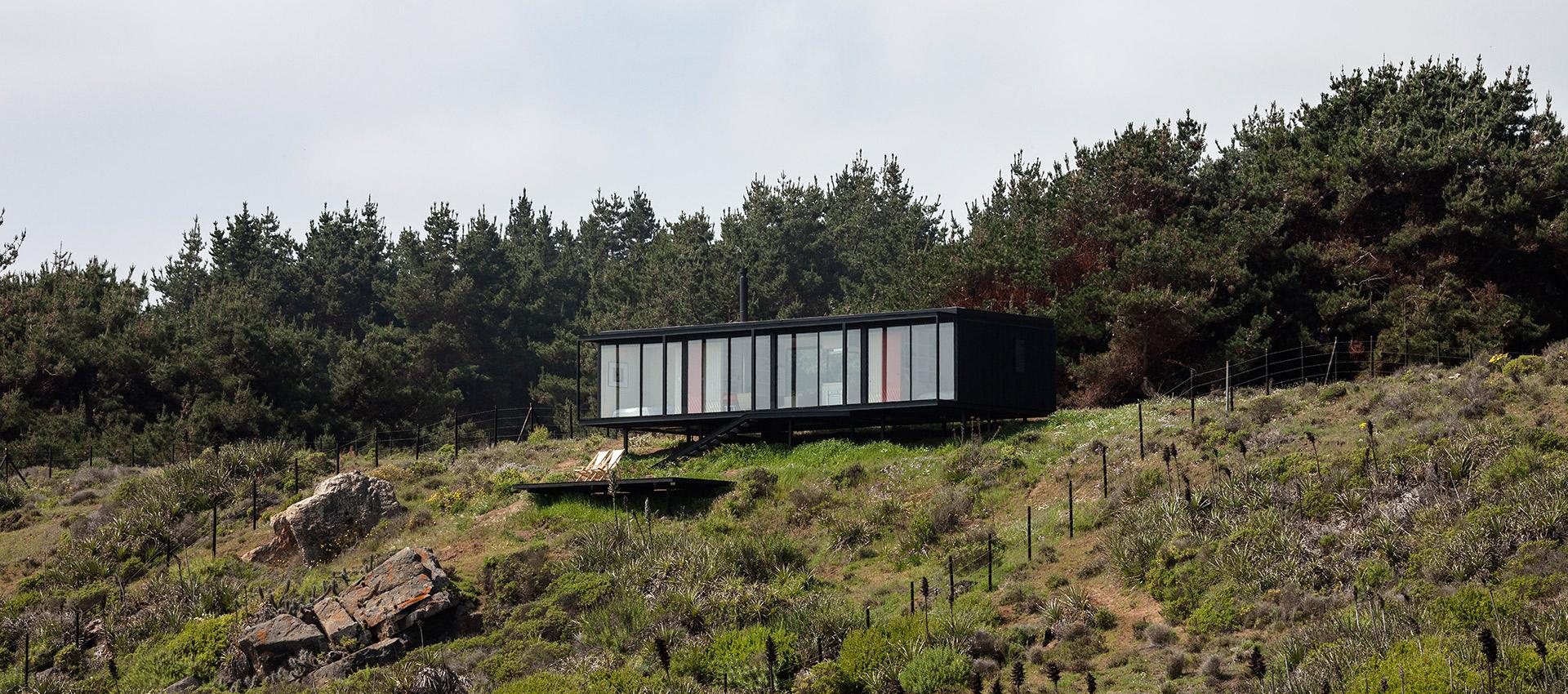 Casa Remota por Felipe Assadi Arquitectos. Fotografía © Fernando Alda