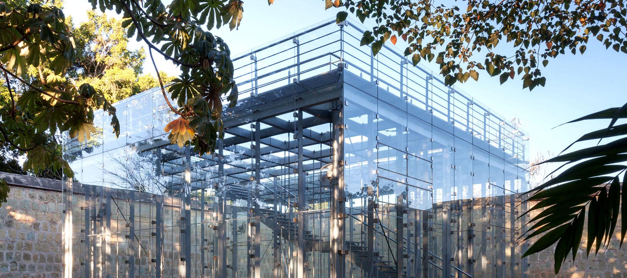 Exterior. Pabellón Educativo de Orquídeas por FGP Atelier. Fotografía por FGP Atelier