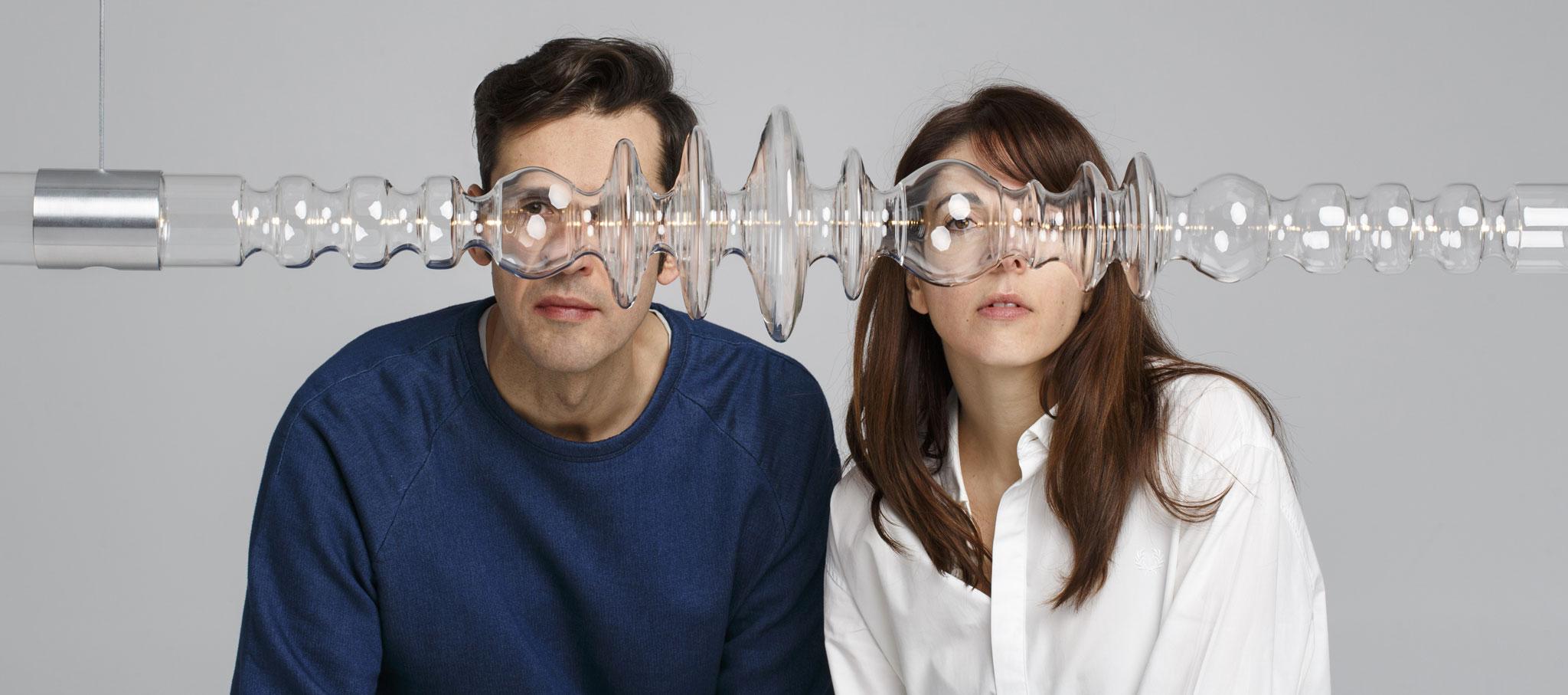 Marta Alonso Yebra & Imanol Calderón Elósegui. Filamento 'una forma visual y lineal de energía' de Mayice Studio. Fotografía © Pablo Gómez-Ogando
