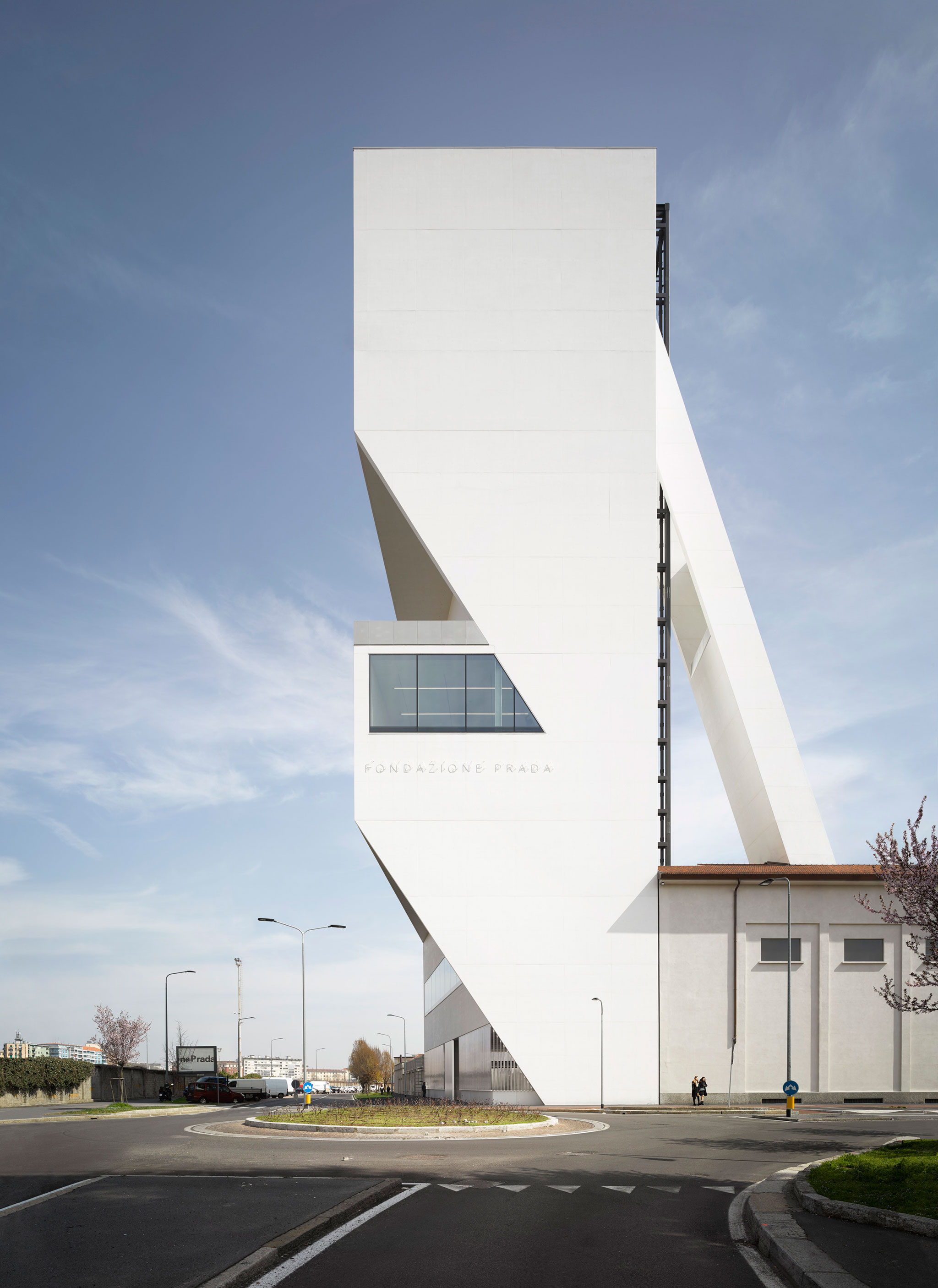 Torre, Fondazione Prada Complex by OMA. Photograph © Bas Princen. Courtesy Fondazione Prada