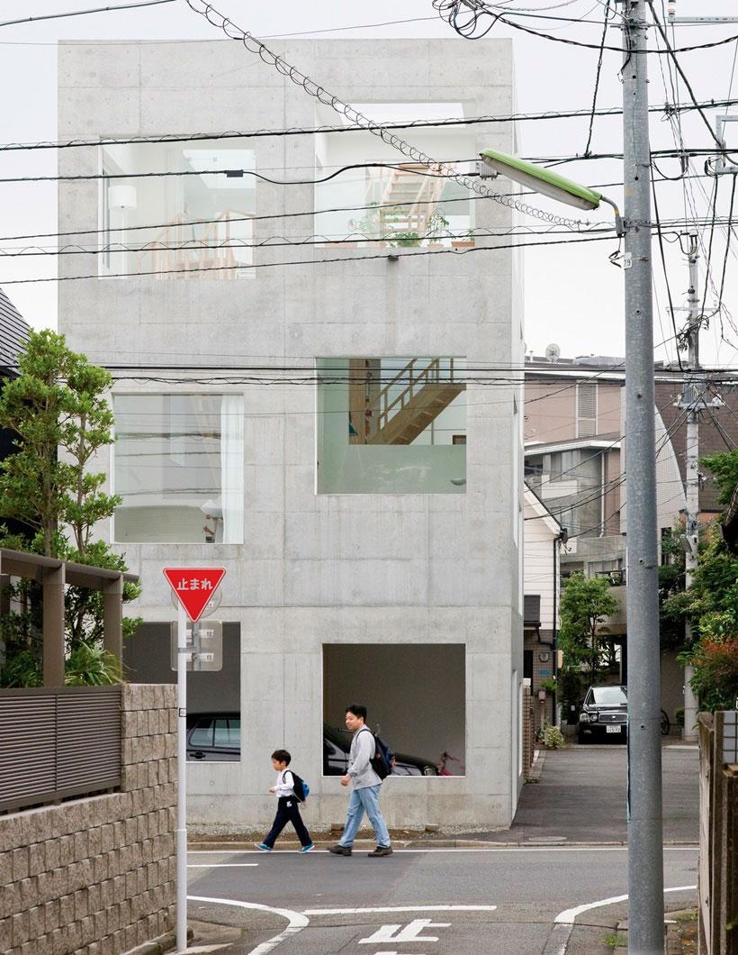 Casa H, Tokio, Japón, 2008. Fotografía © Iwan Baan