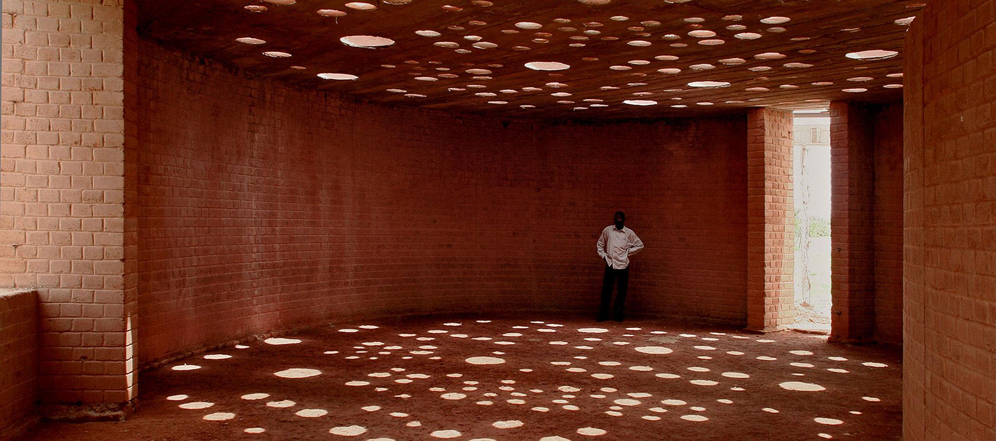 Gando Primary School Library by Kéré Architecture. Photograph by Francis Kéré