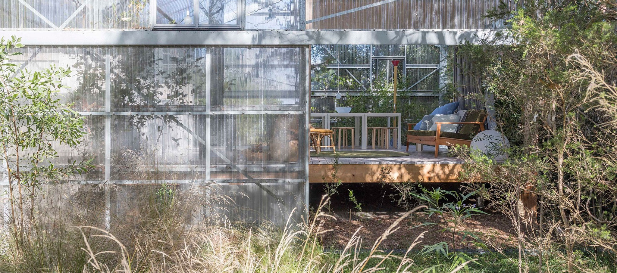 Ground (Garden House), 2018 – Westernport, Victoria, Australia. Curated by Linda Tegg and Baracco+Wright Architects, With David Fox. Photograph by  © Linda Tegg
