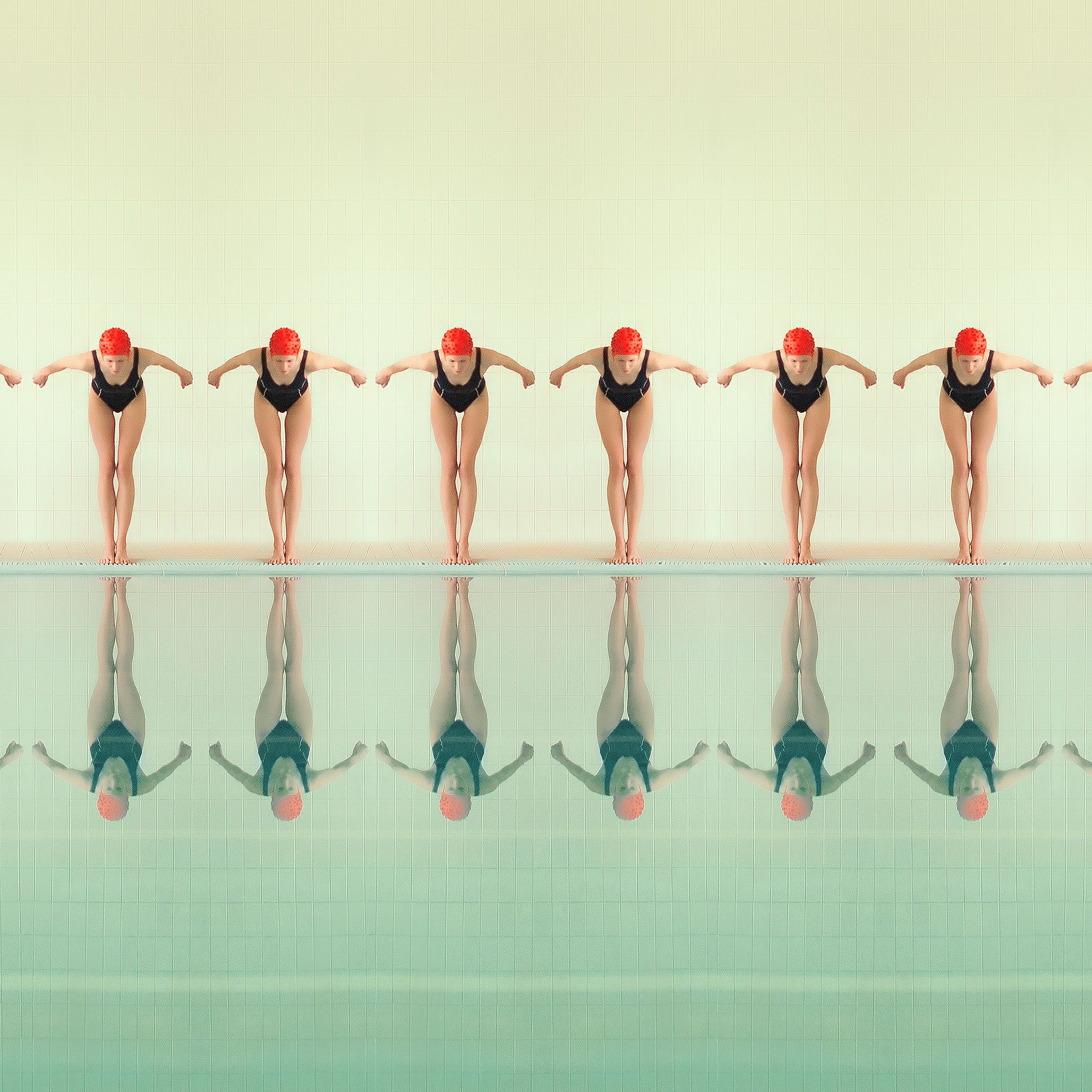 Maria Svarbova. Jump 4 (6), 2017. Sedes invitadas a PHotoESPAÑA 2018. Fotografía © Maria Svarbova