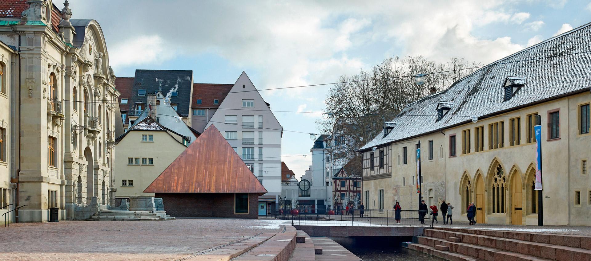 Ampliación del Museo Unterlinden por Herzog & de Meuron. Fotografía © Ruedi Walti