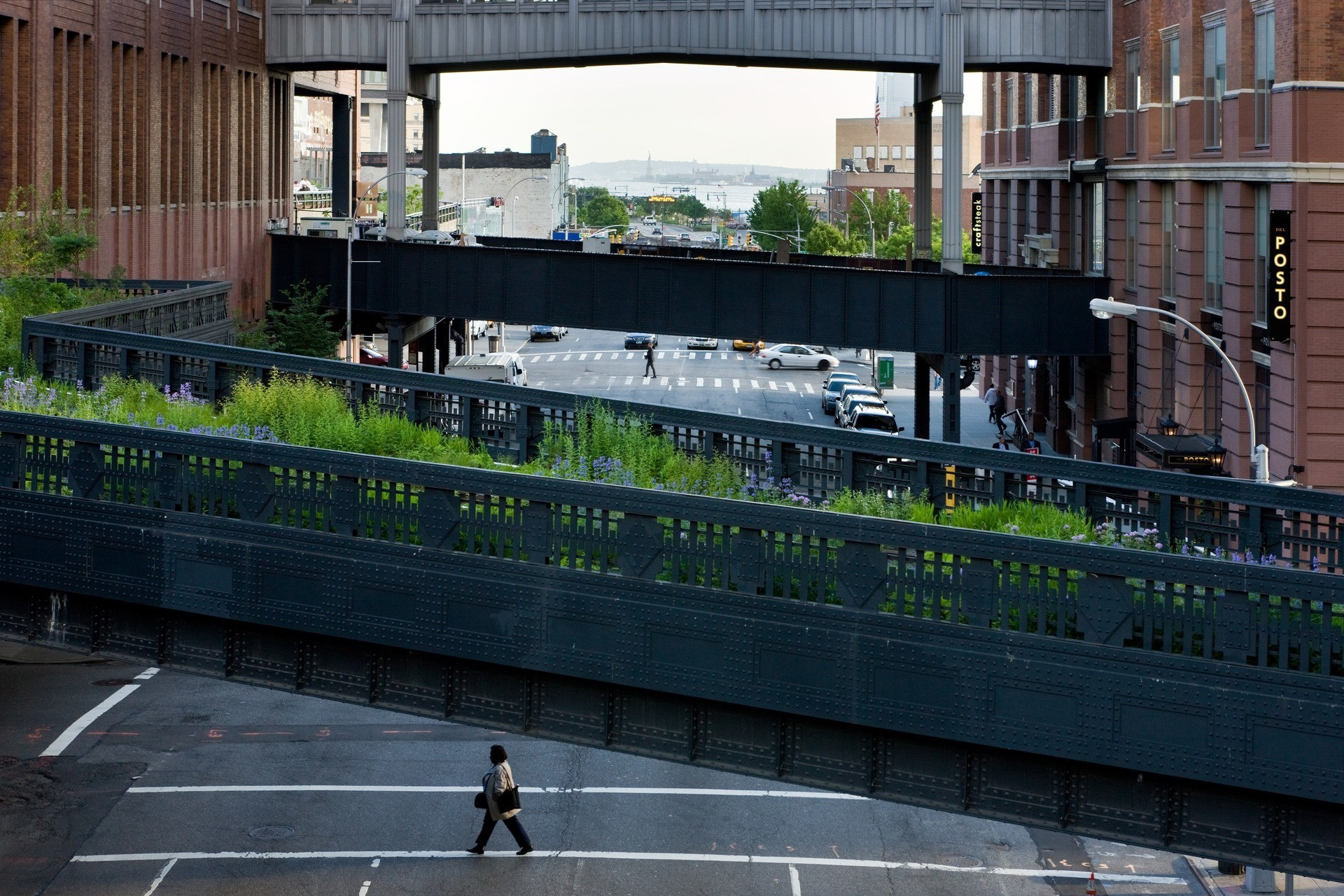 The Highline - New York (Phase II). Photography © Iwan Baan