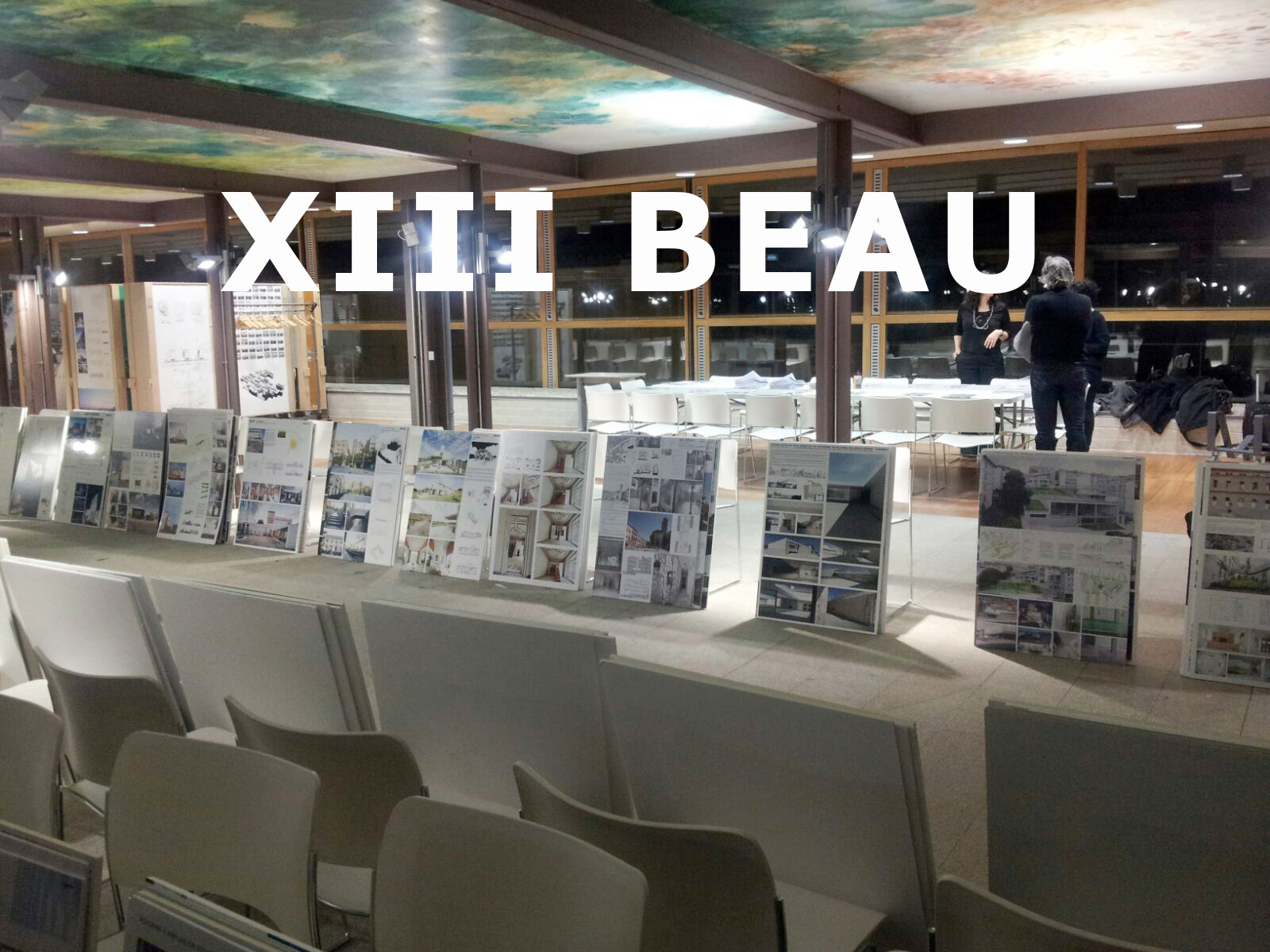 22 awarded projects by XIII BEAU