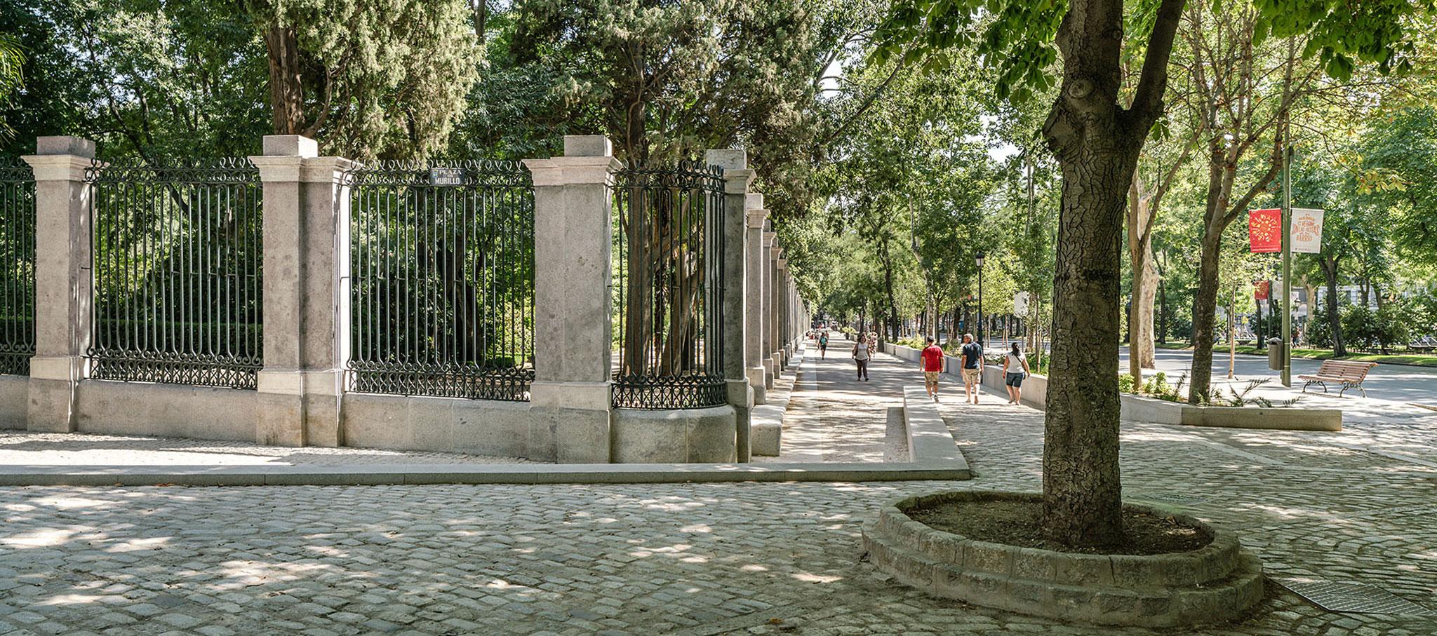 Recuperación del cerramiento exterior del Real Jardín Botánico por Carlos de Riaño. Fotografía por Imagen Subliminal. Miguel de Guzmán / Rocío Romero