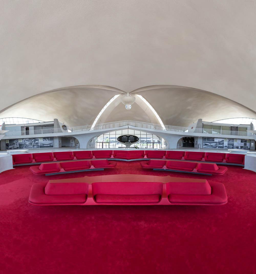 Terminal de la TWA de Saarinen por Max Touhey