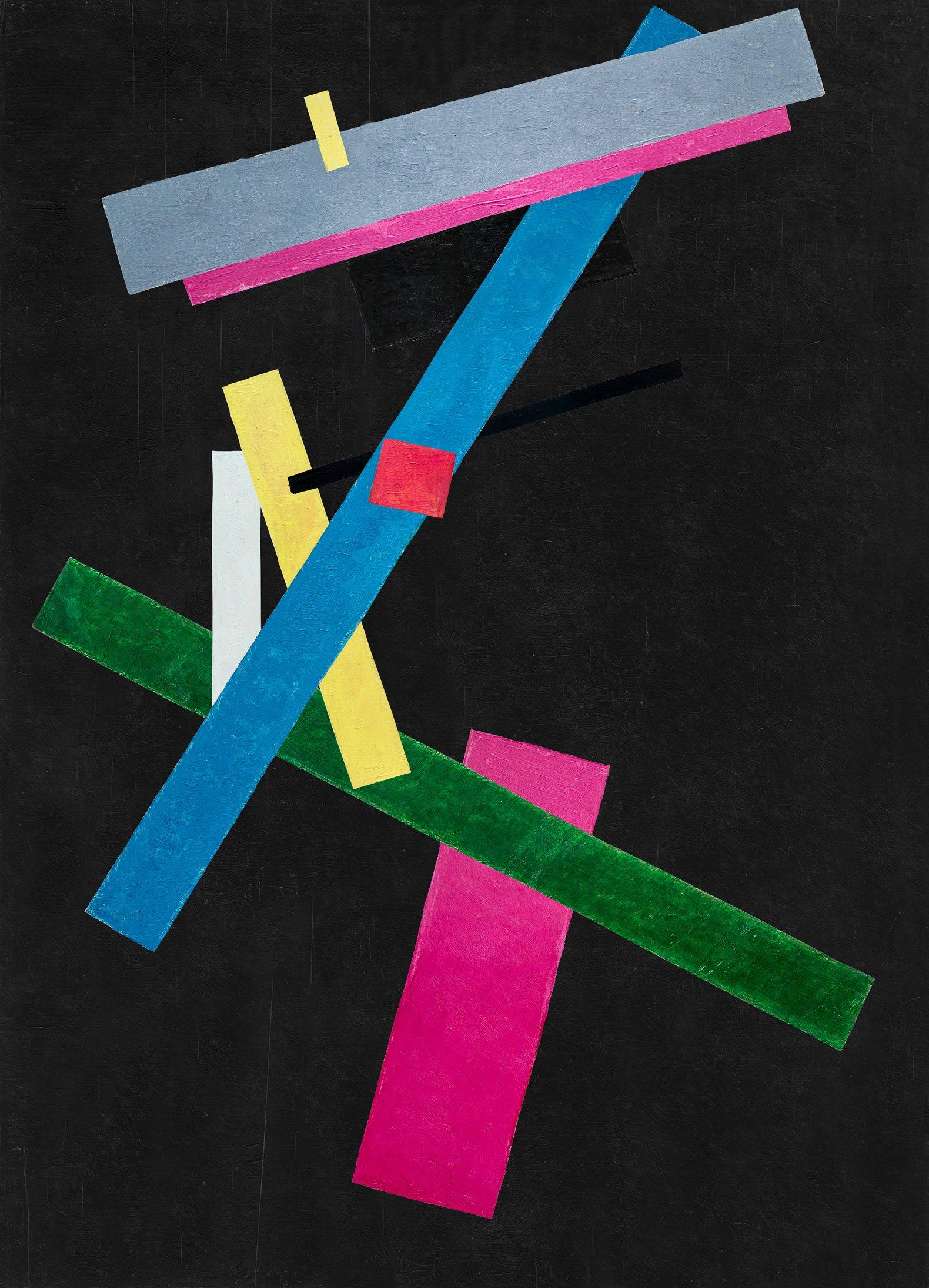 """Variaciones a partir de Malevich"" an exhibition by José Manuel Ballester at Ivorypress © José Manuel Ballester"
