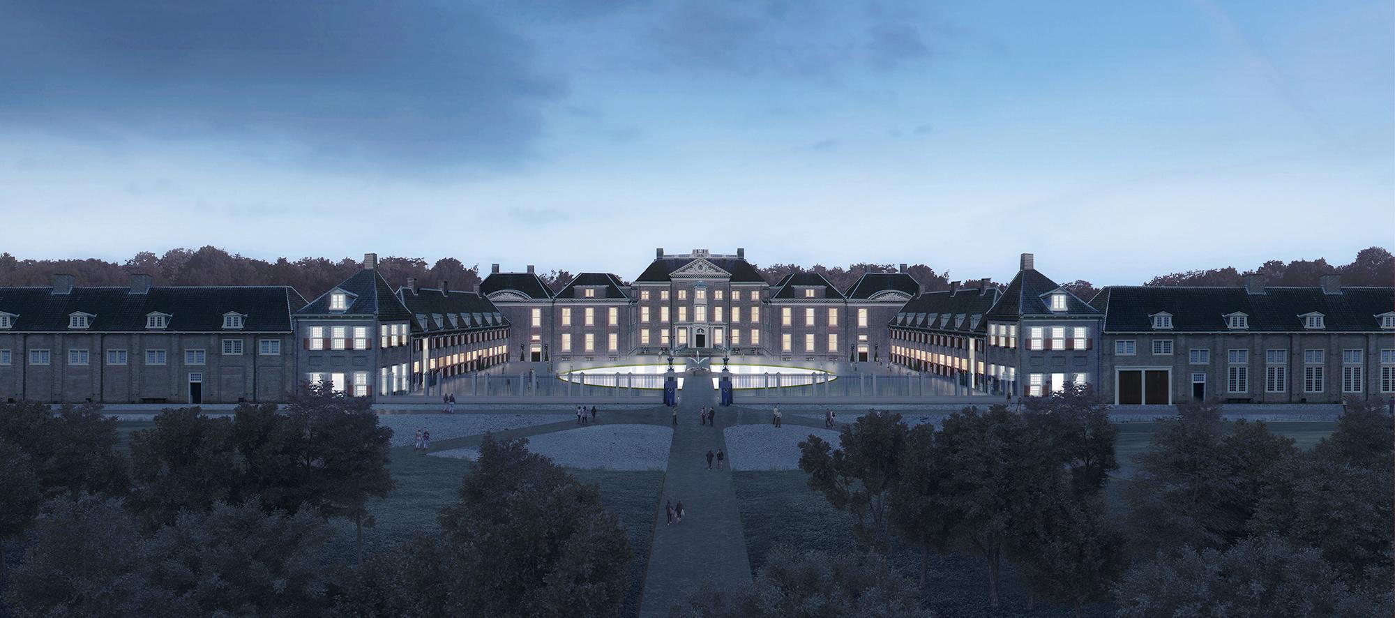 El diseño de KAAN Architecten para la expansión y reforma del Museum Paleis Het Loo. Imagen © cortesía de KAAN Architecten