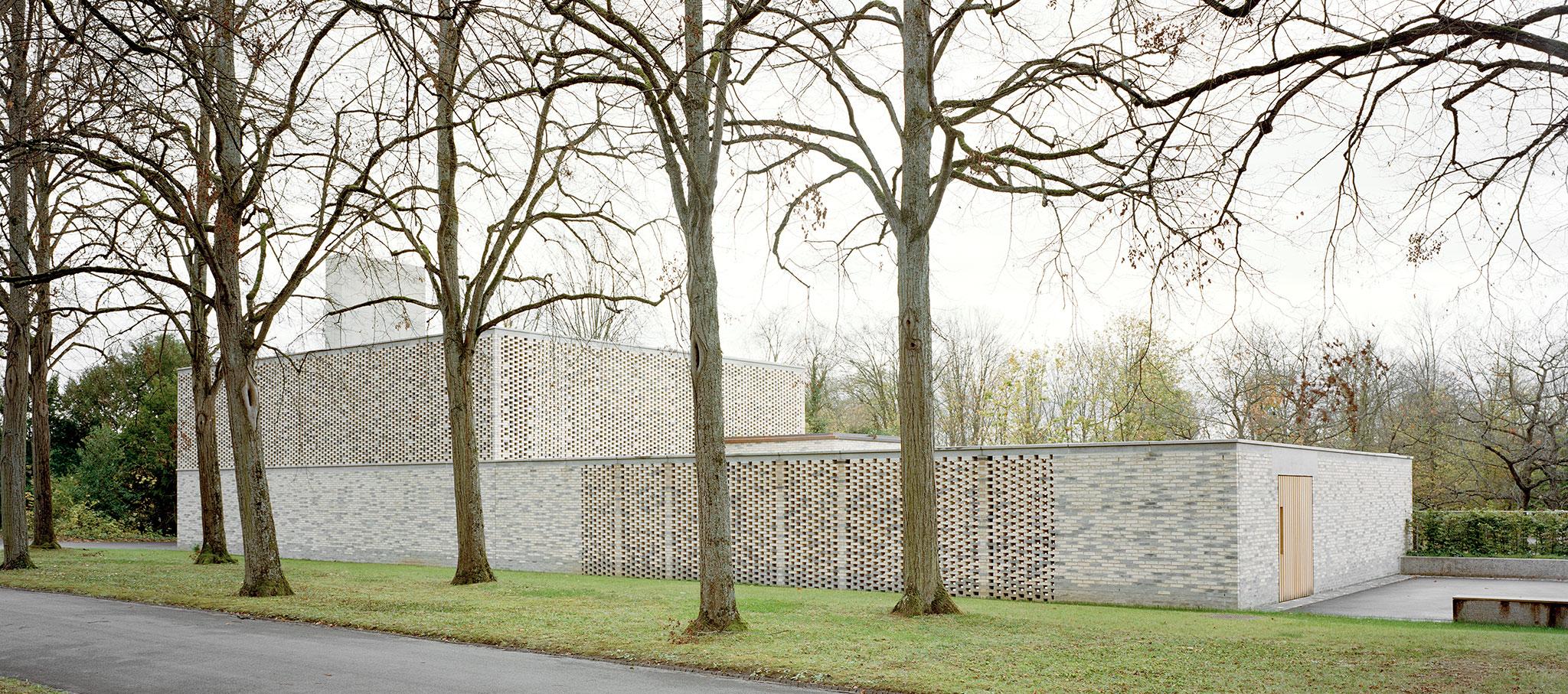 Nuevo Crematorio en el Cementerio Hörnli por Architekturbüro Garrigues Maurer GmbH. Fotografía © Ariel Huber, Rasmus Norlander