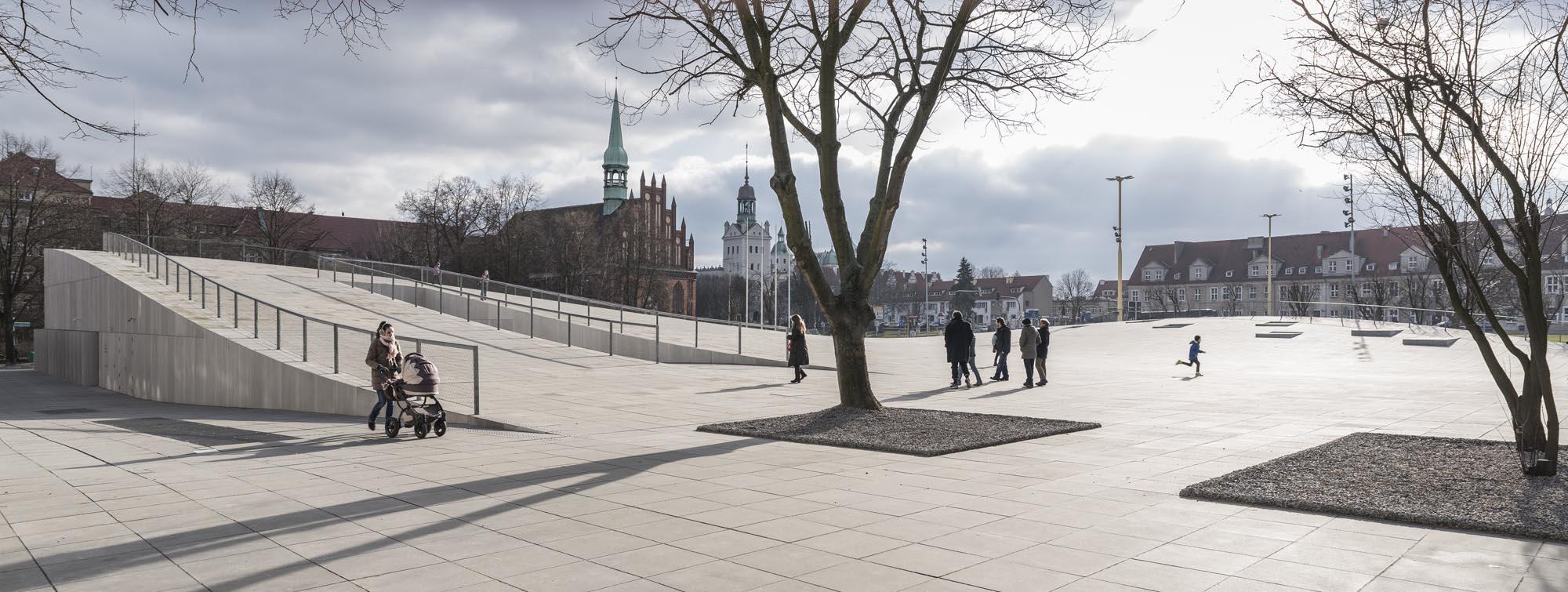 Museo Nacional de Szczecin por Robert Konieczny - KWK Promes . Imagen cortesía de WAF