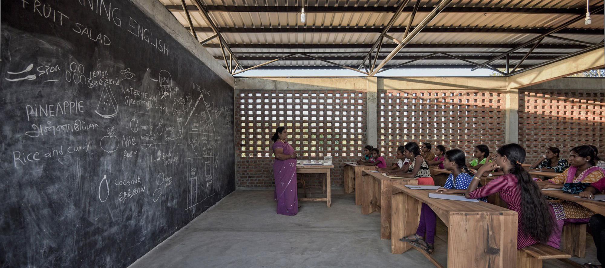 Centro de aprendizaje Lanka por feat.collective. Fotografía © feat.collective