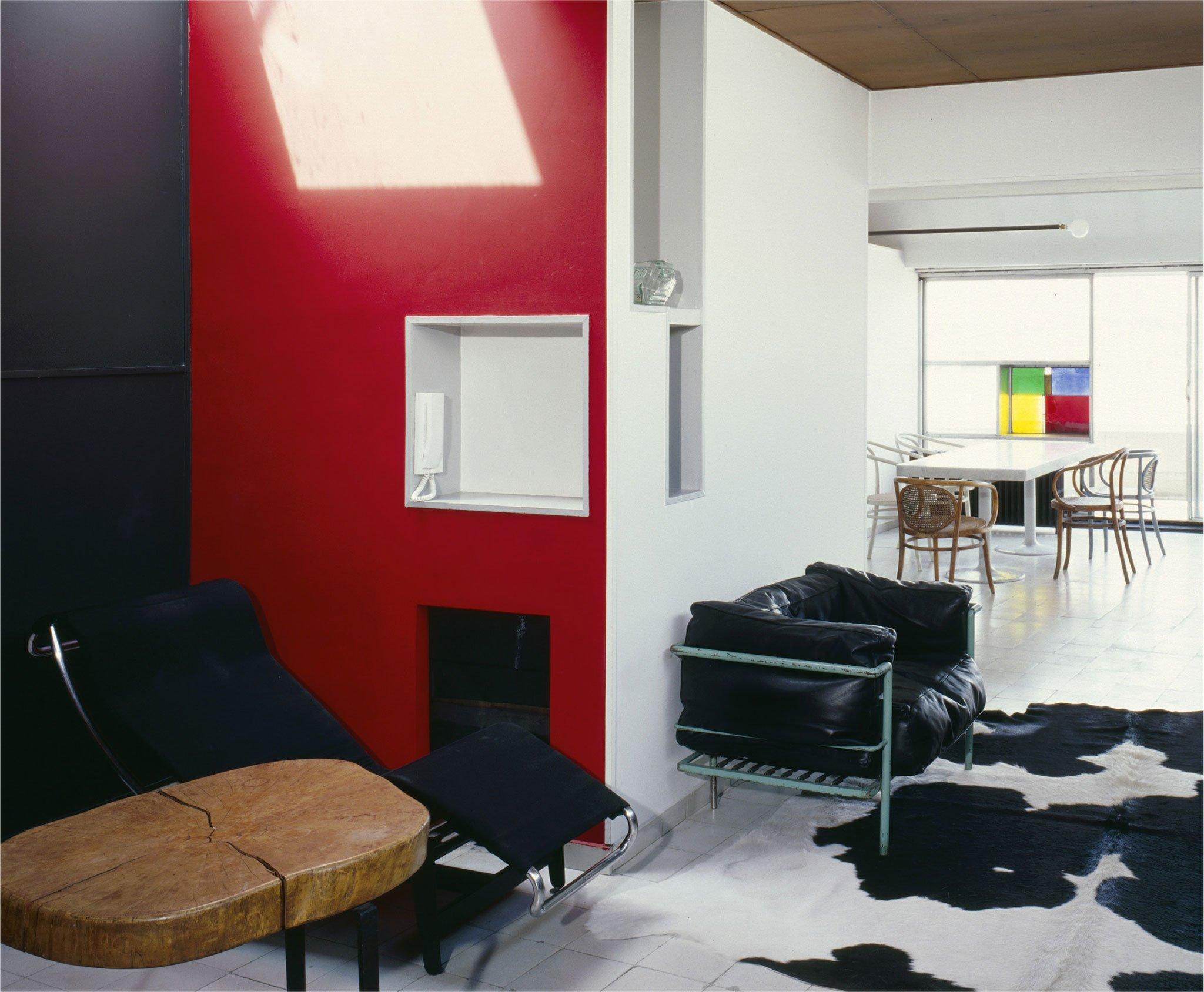 Restauración del apartamento-estudio de Le Corbusier. Cortesía de Fondation Le Corbusier