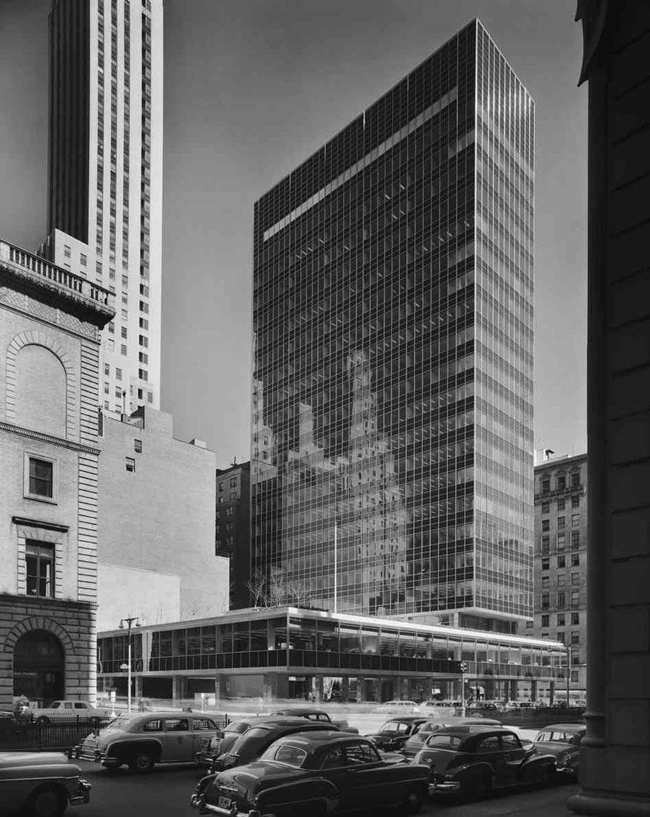 Gordon Bunshaft Y Som En Nueva York  Lever House
