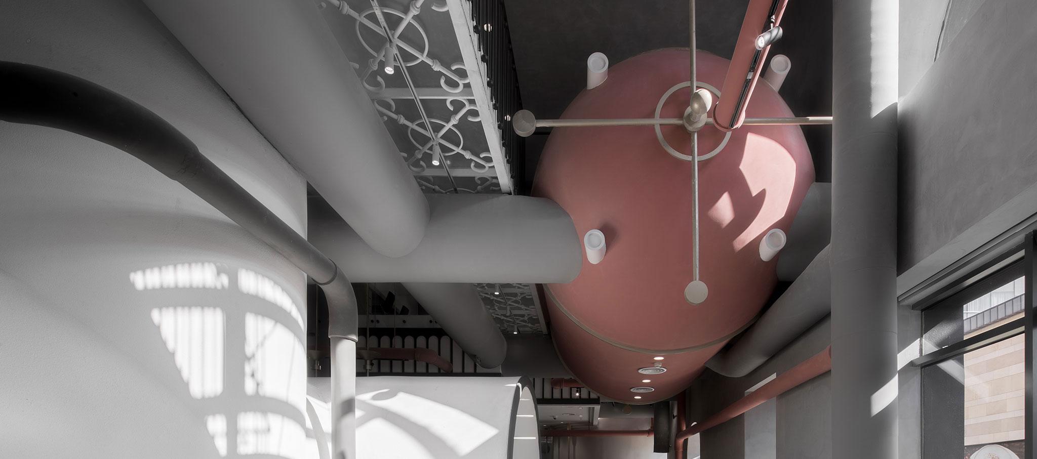 Interior, planta primera. Ideas Lab por LI Xiang. Fotografía © SHAO Feng
