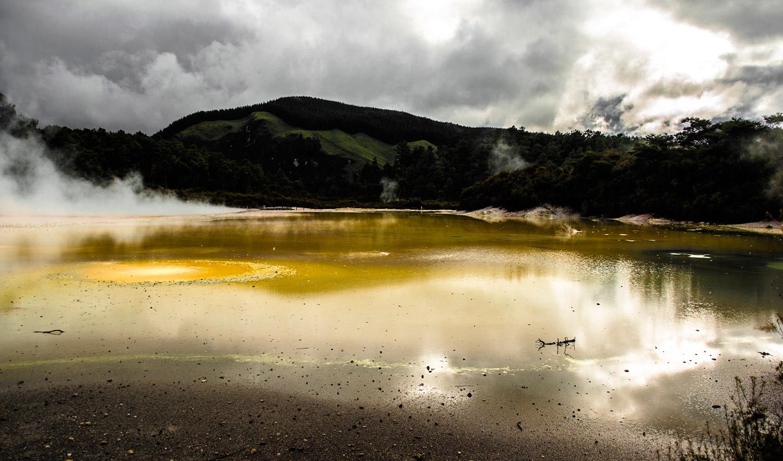 Wai O Tapu. Nueva Zelanda. Fotografía © Marina Rodriguez