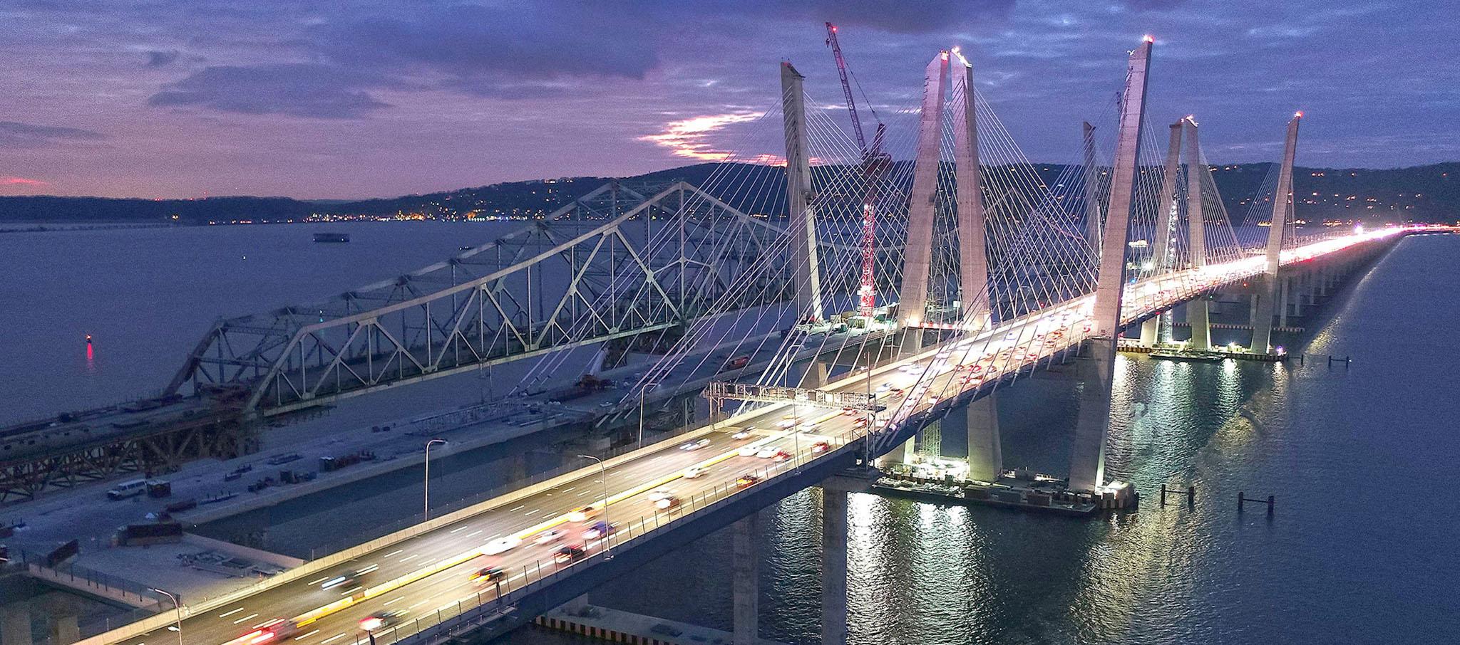 Accelerated Bridge Construction Commendation. Mario Cuomo Bridge, Tarrytown, NY. Fotografía Prize Bridge Awards, cortesía de NSBA