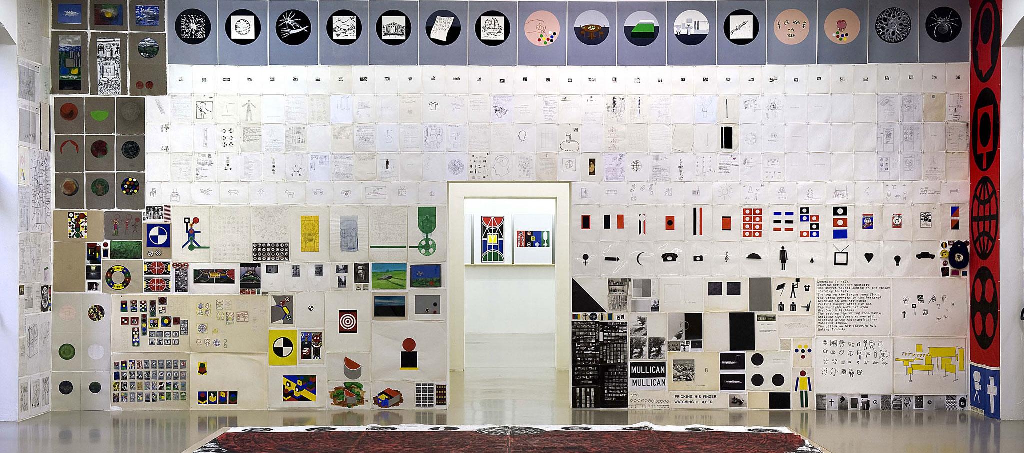 """Vista de la exposición, """"12 por 2"""", Institut d'Art Contemporain, Villeurbanne/Rhône-Alpes, 2010. Courtesía del artista y Mai 36 Galerie, Zurich. Fotografía por Blaise Adilon"""