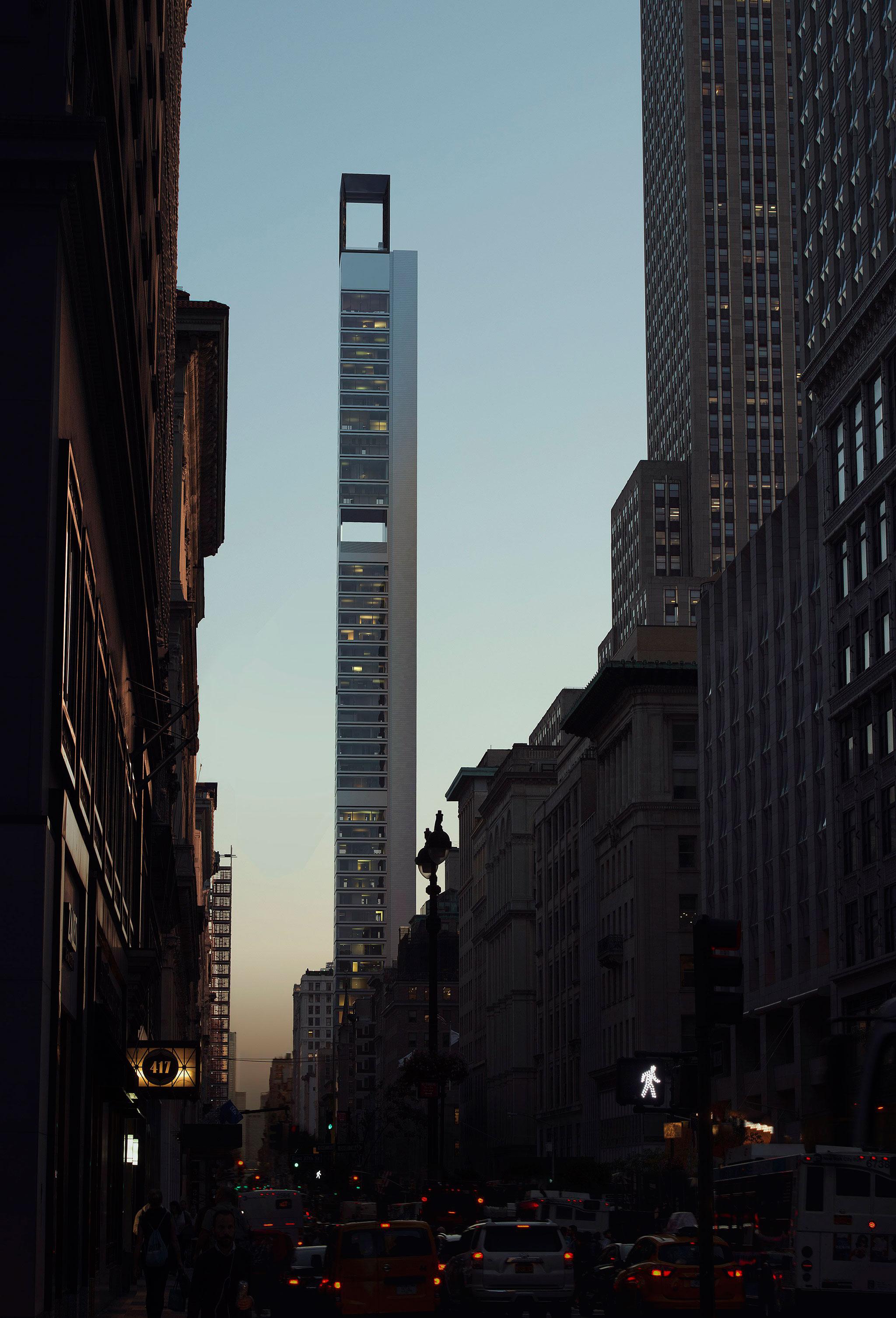 262 Fifth Avenue por Meganom. Visualización por DBOX