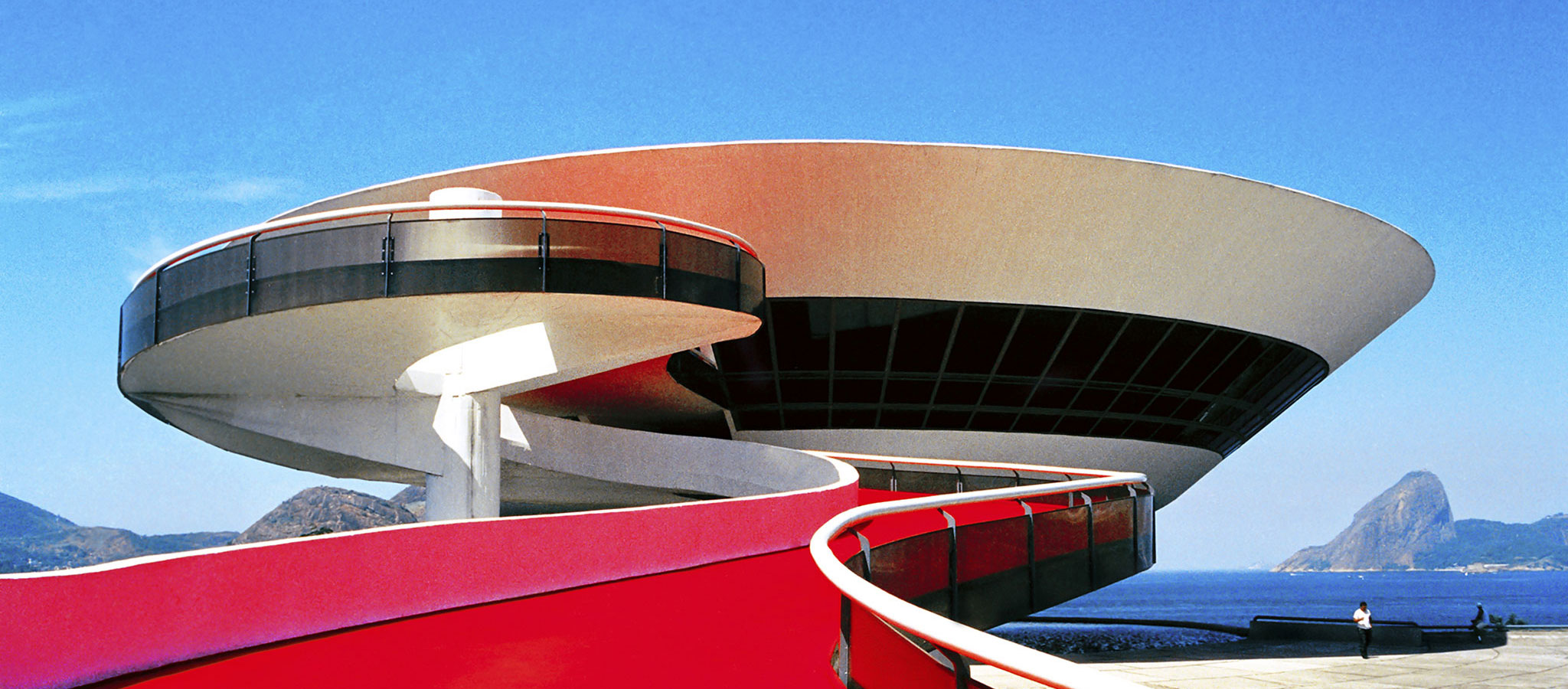 MAC Niteroi by Oscar Niemeyer. Photograph by © Marcela Grassi