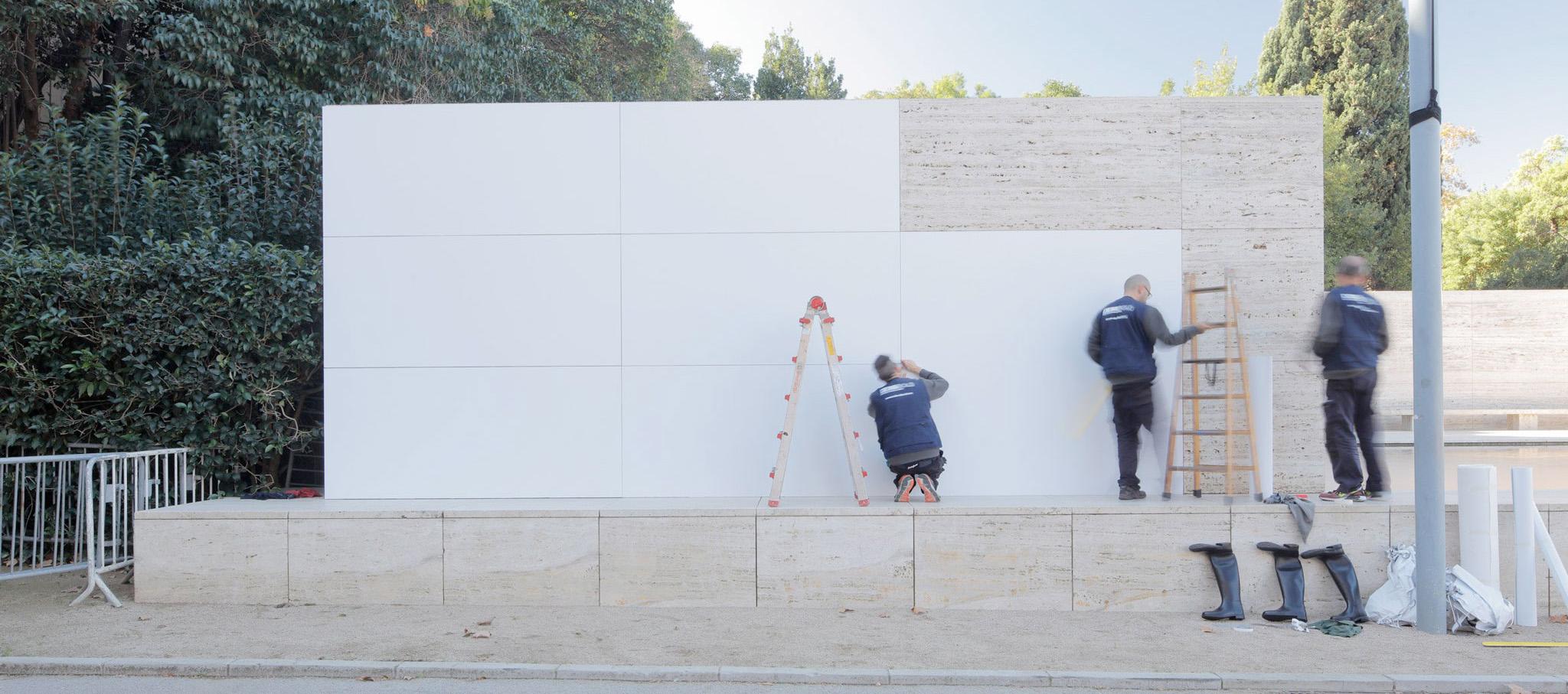 Mies missing materiality por Anna & Eugeni Bach. Fotografía © Adrià Goula