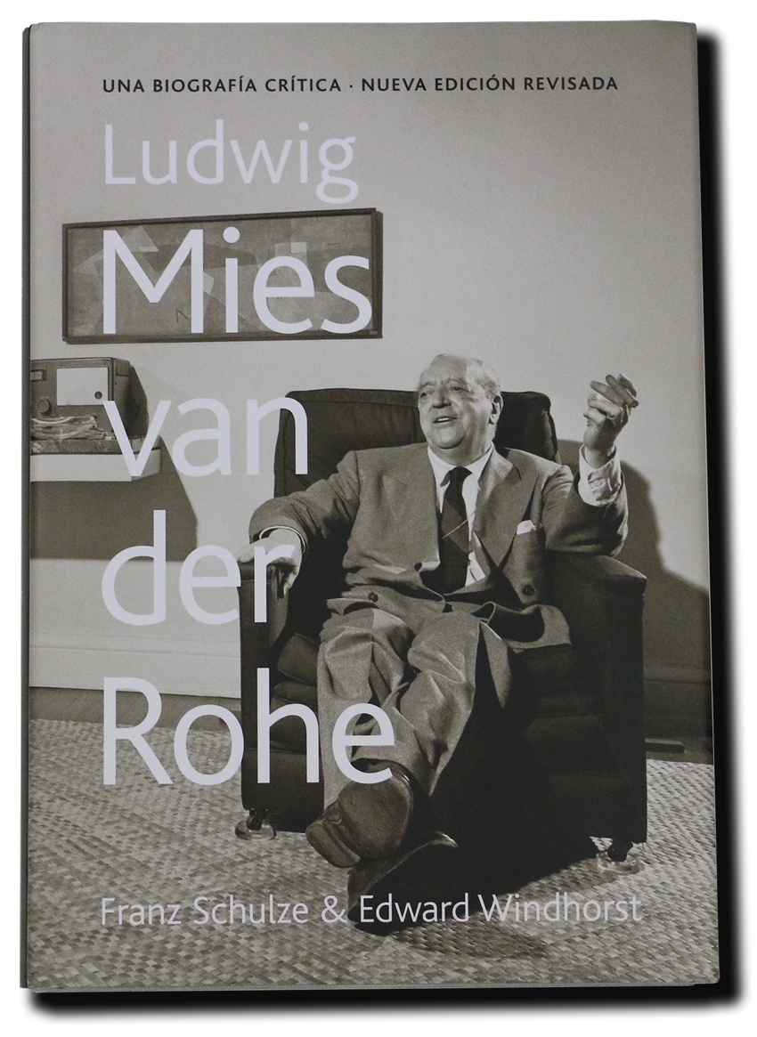 'Mies van der Rohe. A critical biography. Cover