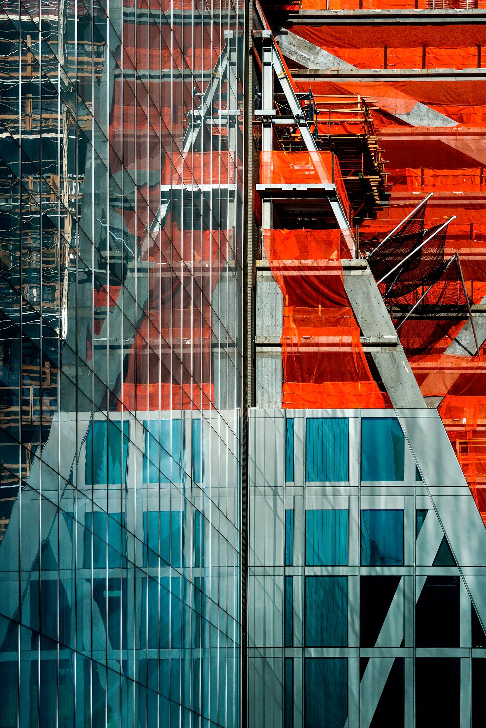 Imagen de la construcción de la Torre 53W53 por Jean Nouvel. Fotografía © Giles Ashford