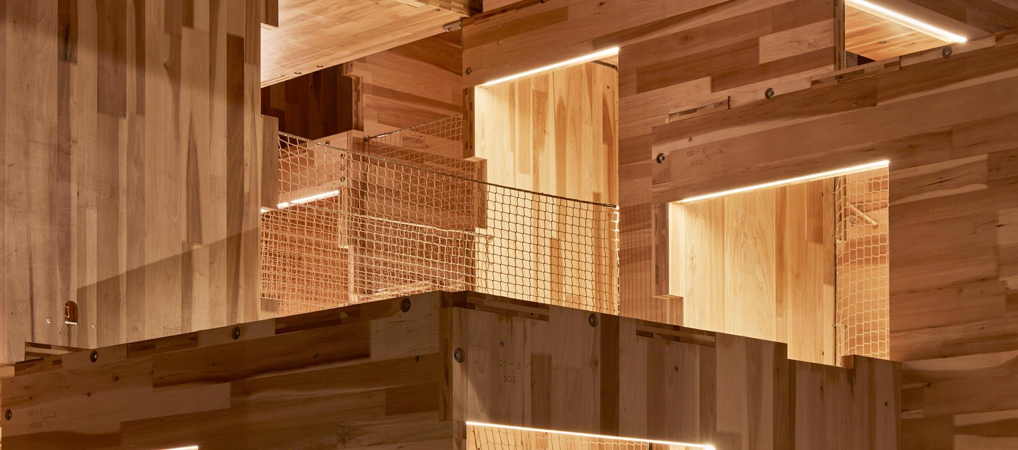 MultiPly por Waugh Thistleton Architects. Fotografía por Ed Reeve